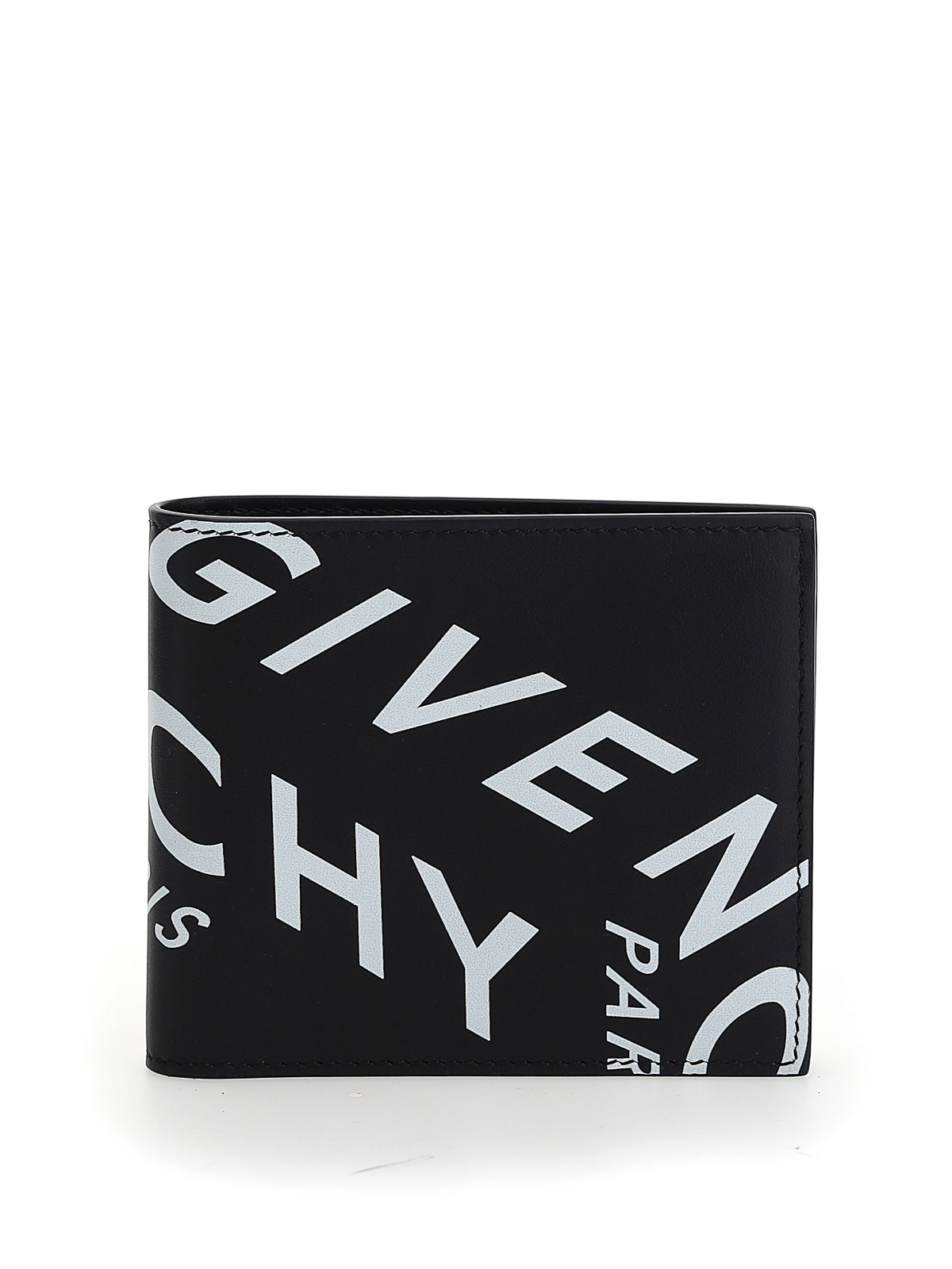 GIVENCHY REFRACTED LEATHER WALLET