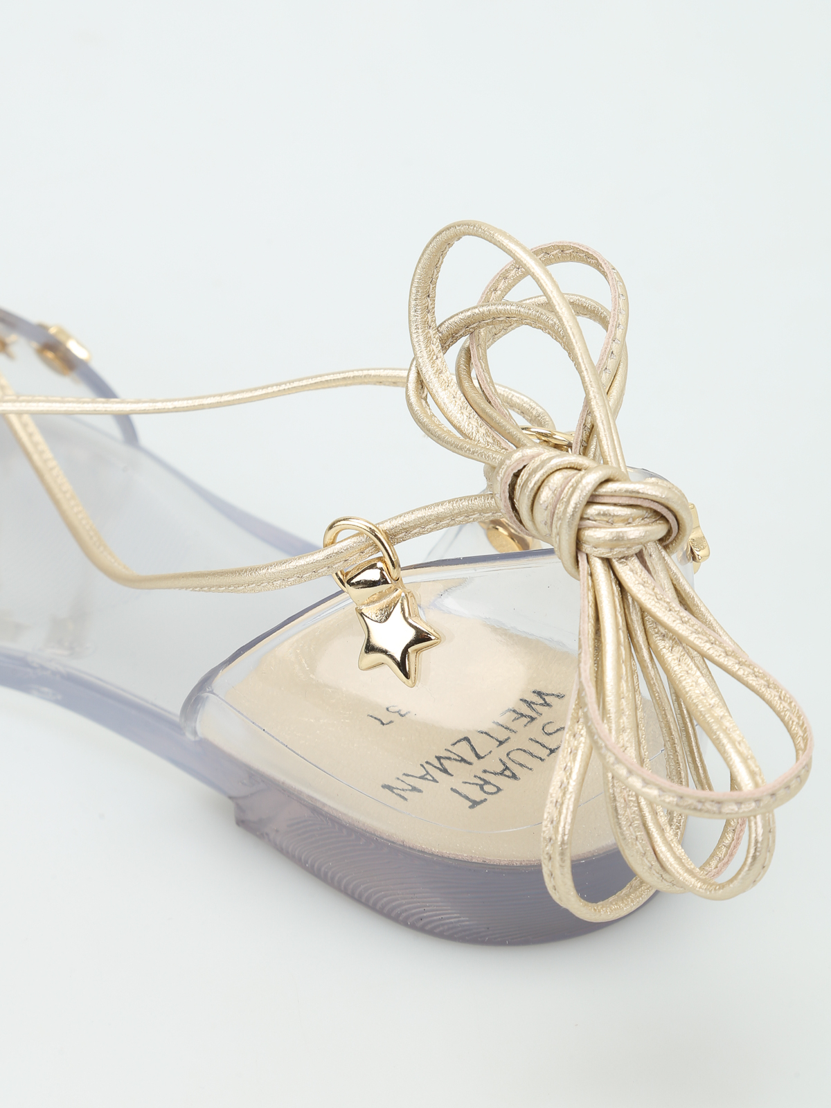 7a9e4d493f96 Stuart Weitzman - Glass Noodles Star jelly sandals - sandals - VL76240