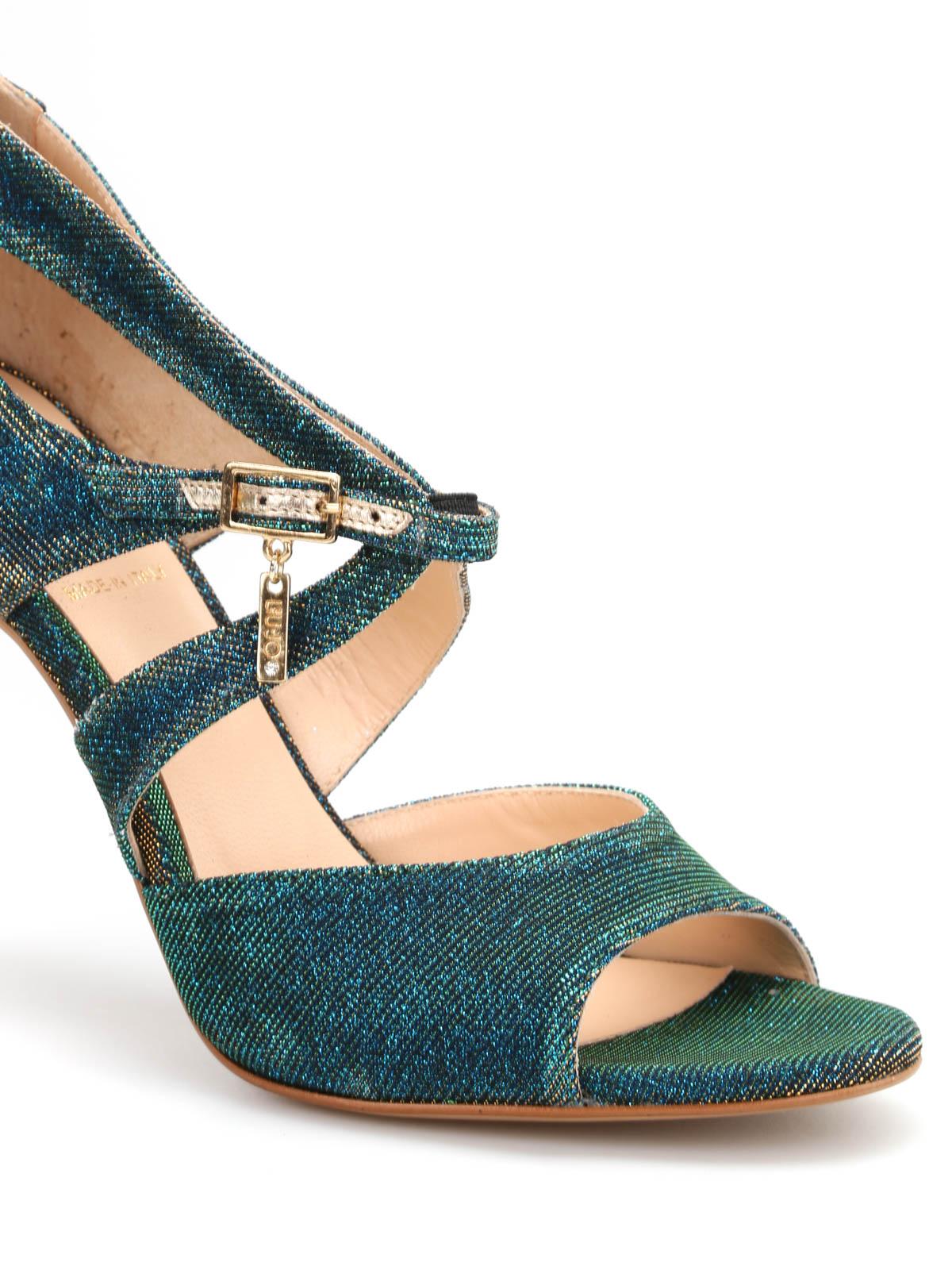 best value 6dbb1 c7f7f Liu Jo - Glitter effect sandals - sandals - S16047T896503U67 ...