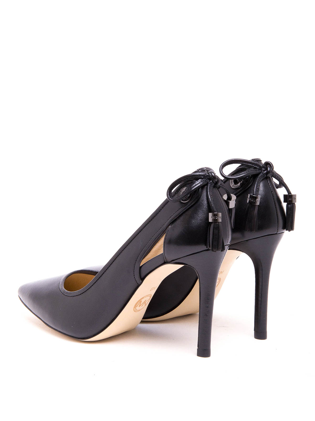 nouveaux styles ebedb 03588 Michael Kors - Glossy leather Jennings pumps - court shoes ...