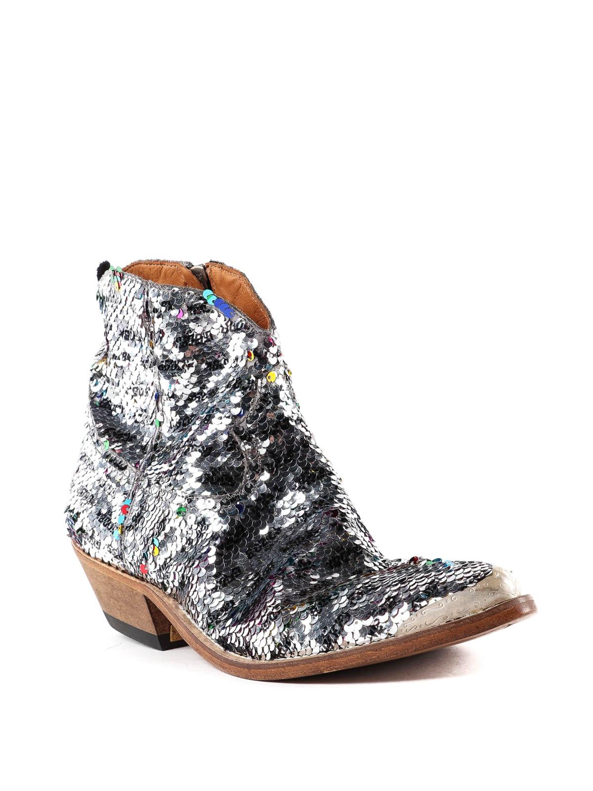 golden goose sequin boots