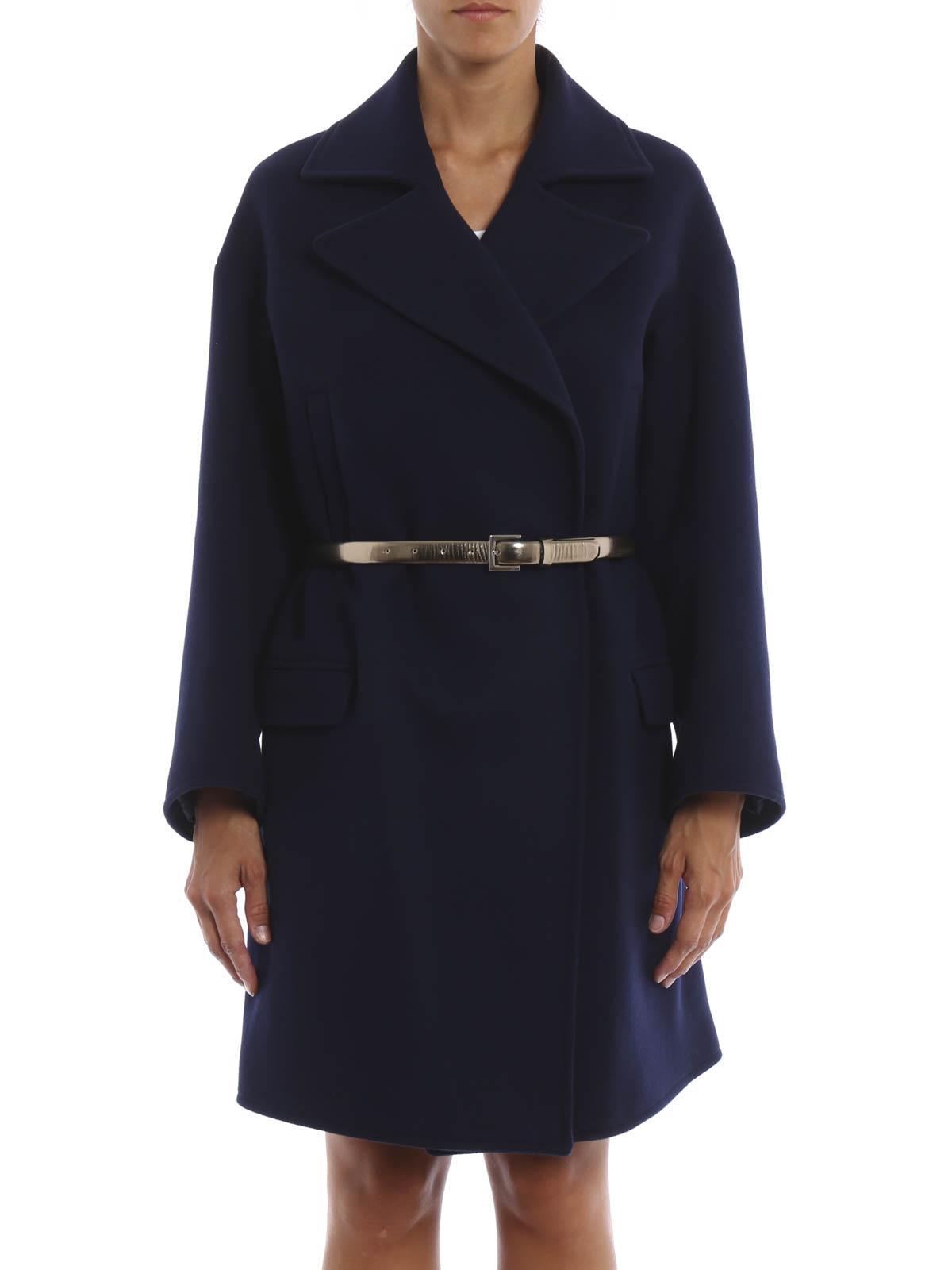 Golden Goose Cappotto avvolgente in misto lana cappotti