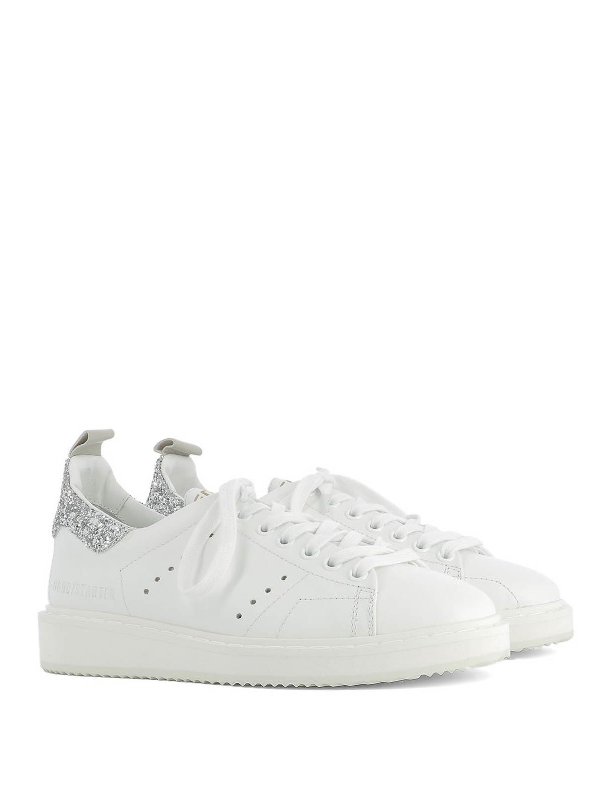ebac05f9ed820 Golden Goose - Starter glitter back sneakers - trainers - G30WS631 D6