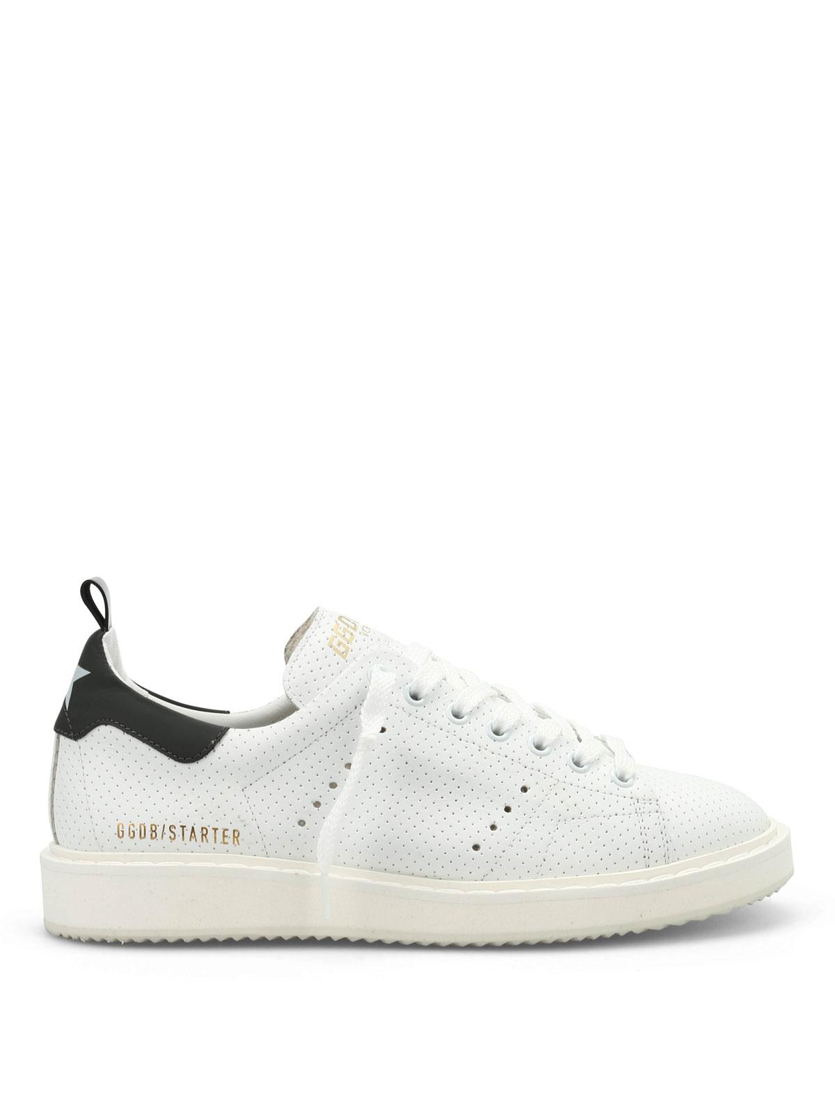 Sneaker Golden Pelle In Traforata Goose Starter Sneakers pFwq5vF