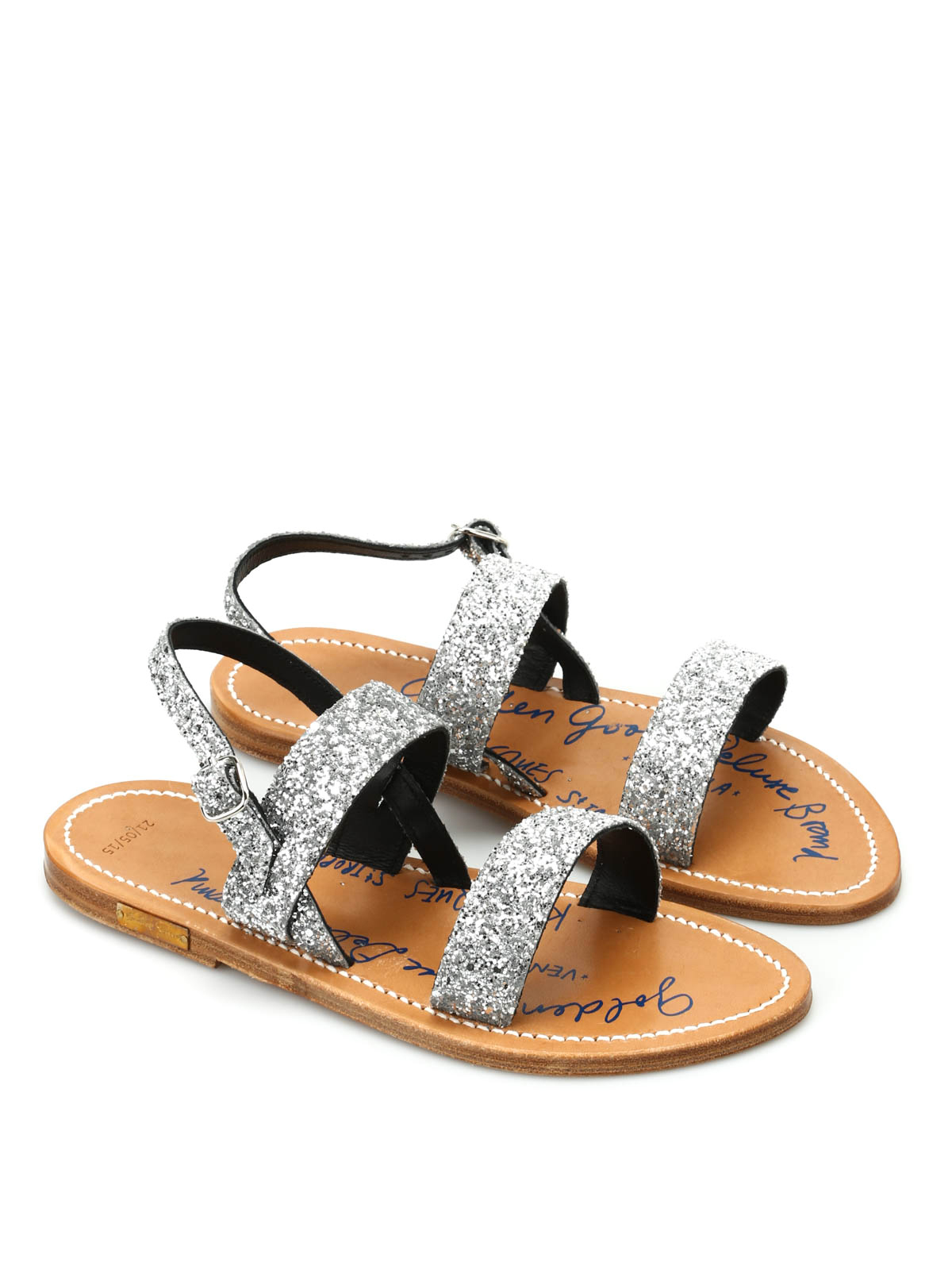 Golden Goose - Glitter straps sandals