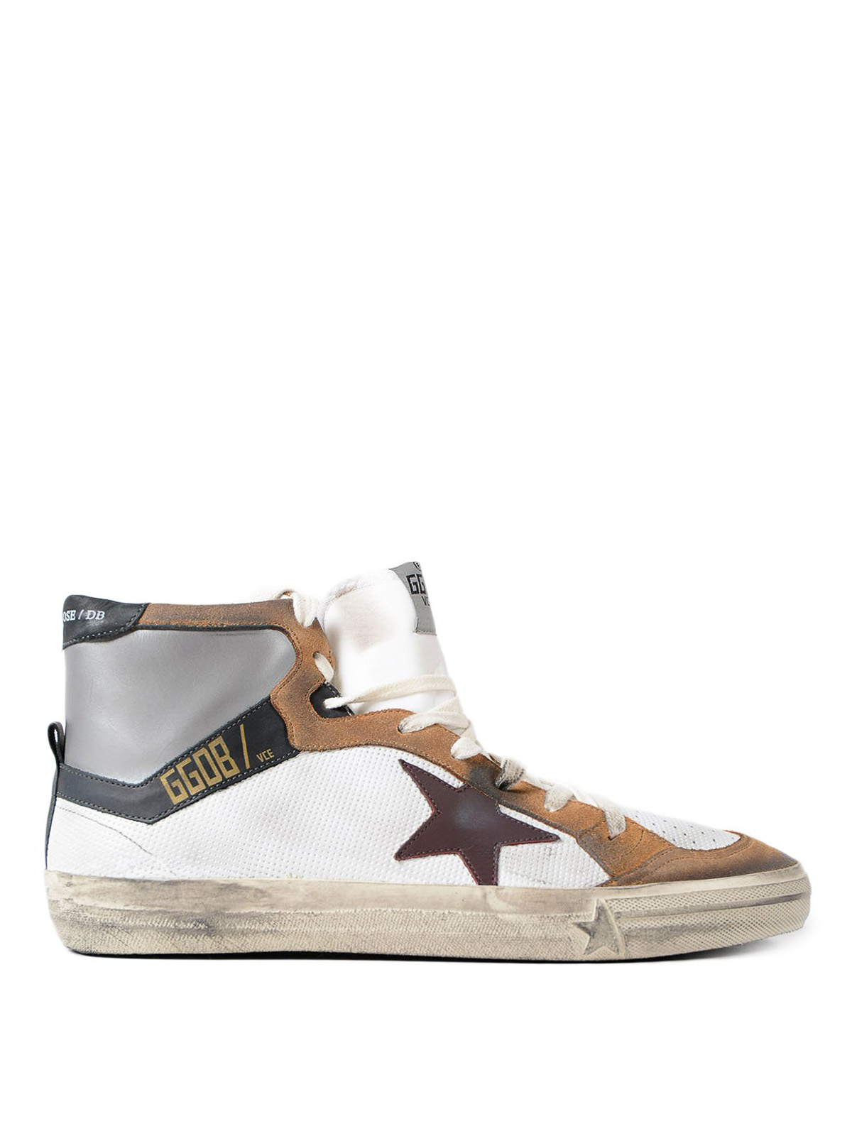 Golden Goose - 2.12 leather sneakers