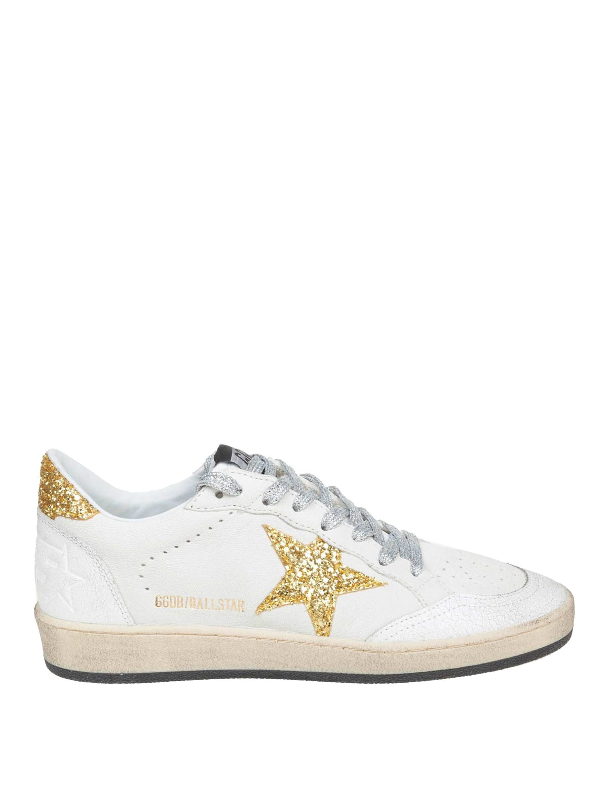 0a39c7323b15 Golden Goose - Ball Star sneakers with glitter details - trainers ...