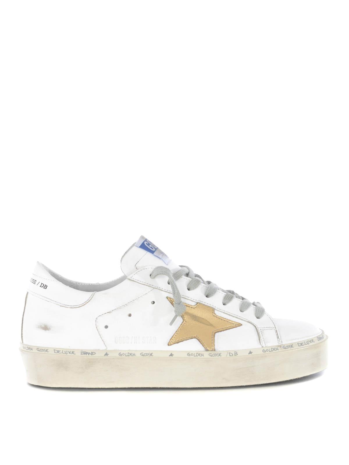 8a1fe8710a Golden Goose - Sneaker Hi Star con stella dorata - sneakers ...
