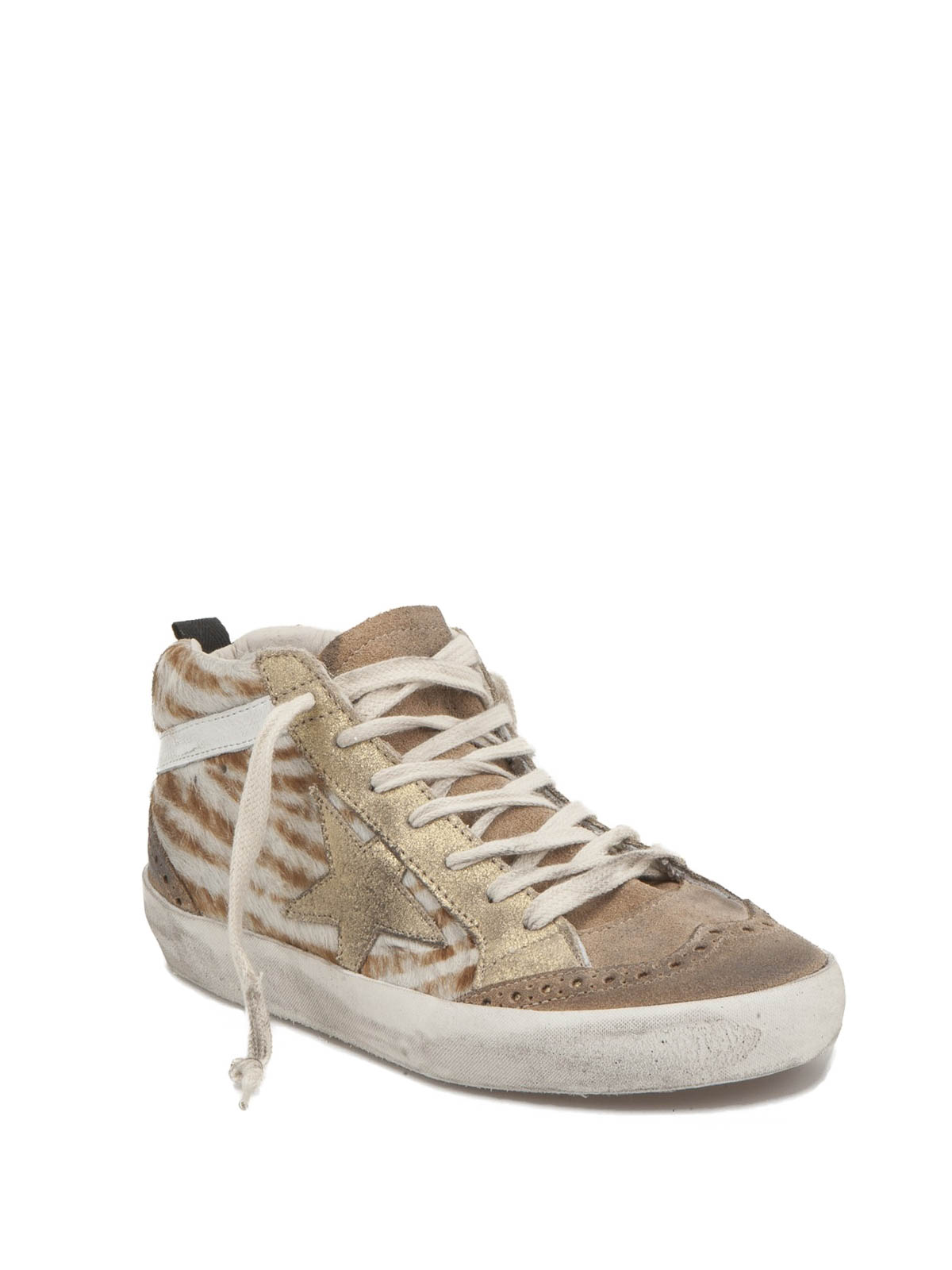 Clearance Cheap Online Clearance Free Shipping Zebra Mid Star sneakers Golden Goose 11O3lP3