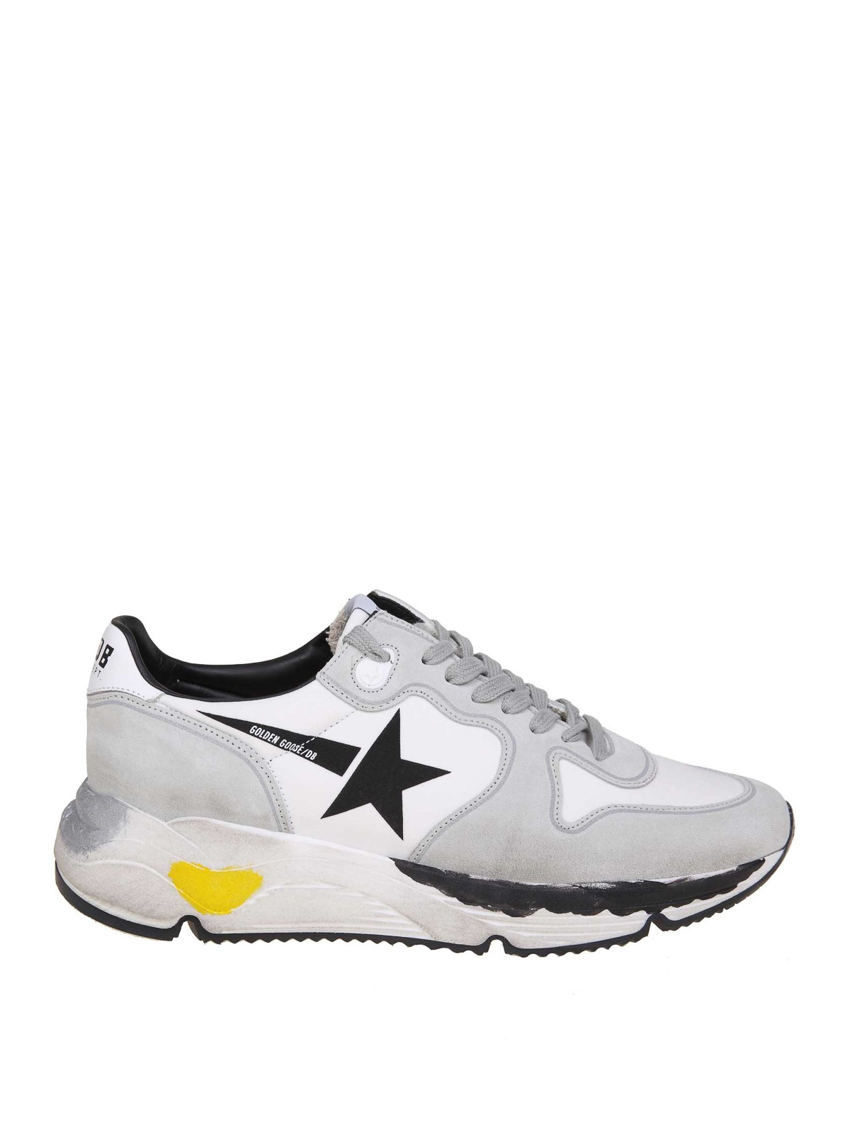 Golden Goose RUNNING SOLE SUEDE AND LYCRA SNEAKERS