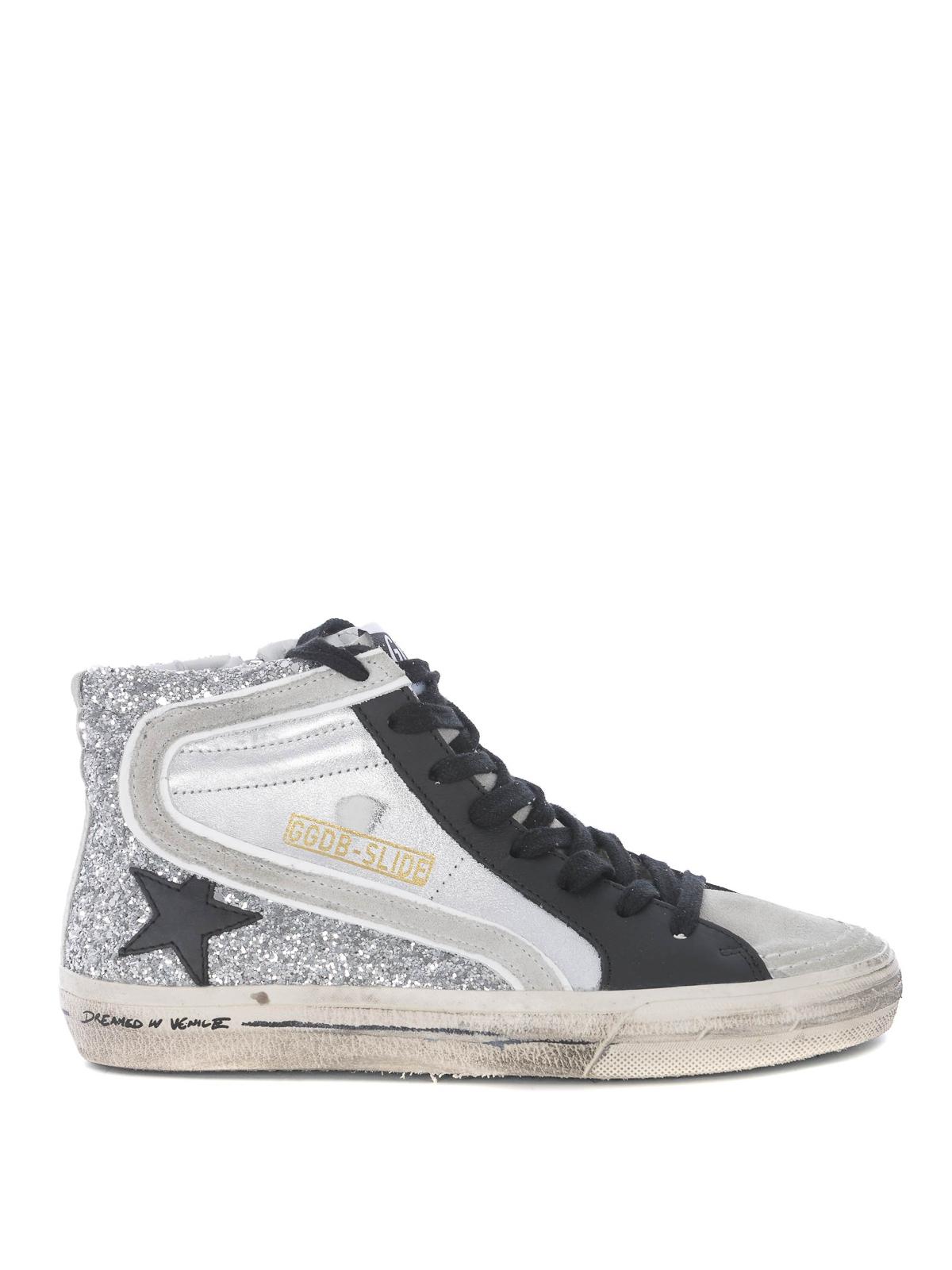 Golden Goose - Slide glitter and