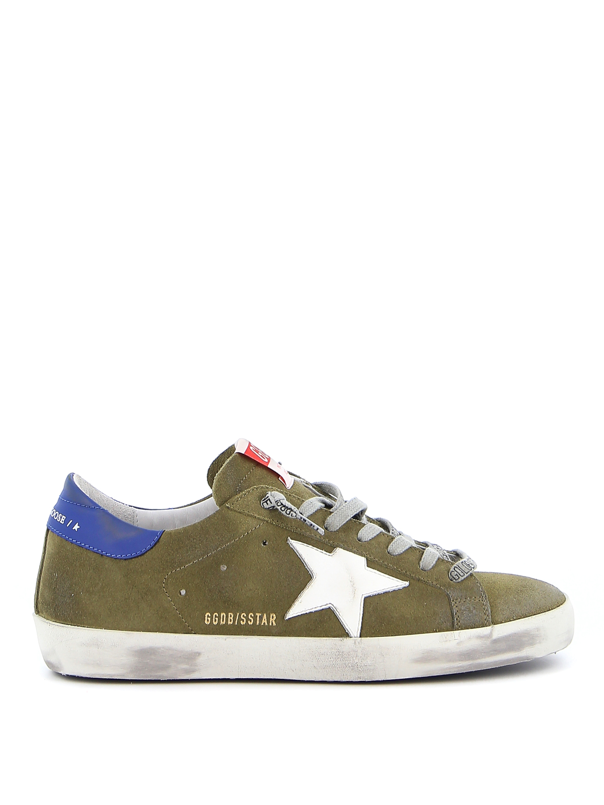 Golden Goose SUPERSTAR CLASSIC SUEDE SNEAKERS