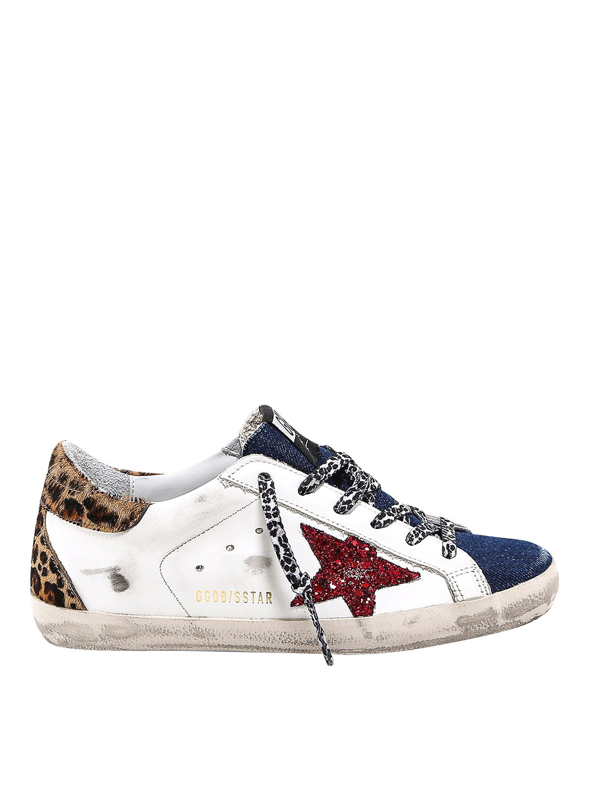 Golden Goose SUPERSTAR SNEAKERS WITH GLITTER