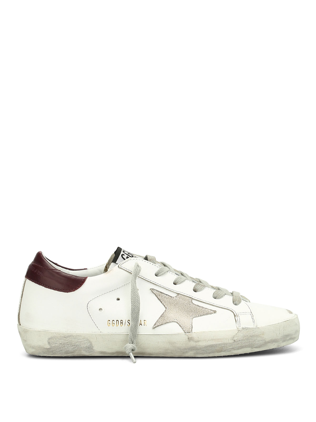 Superstar used effect sneakers by Golden Goose