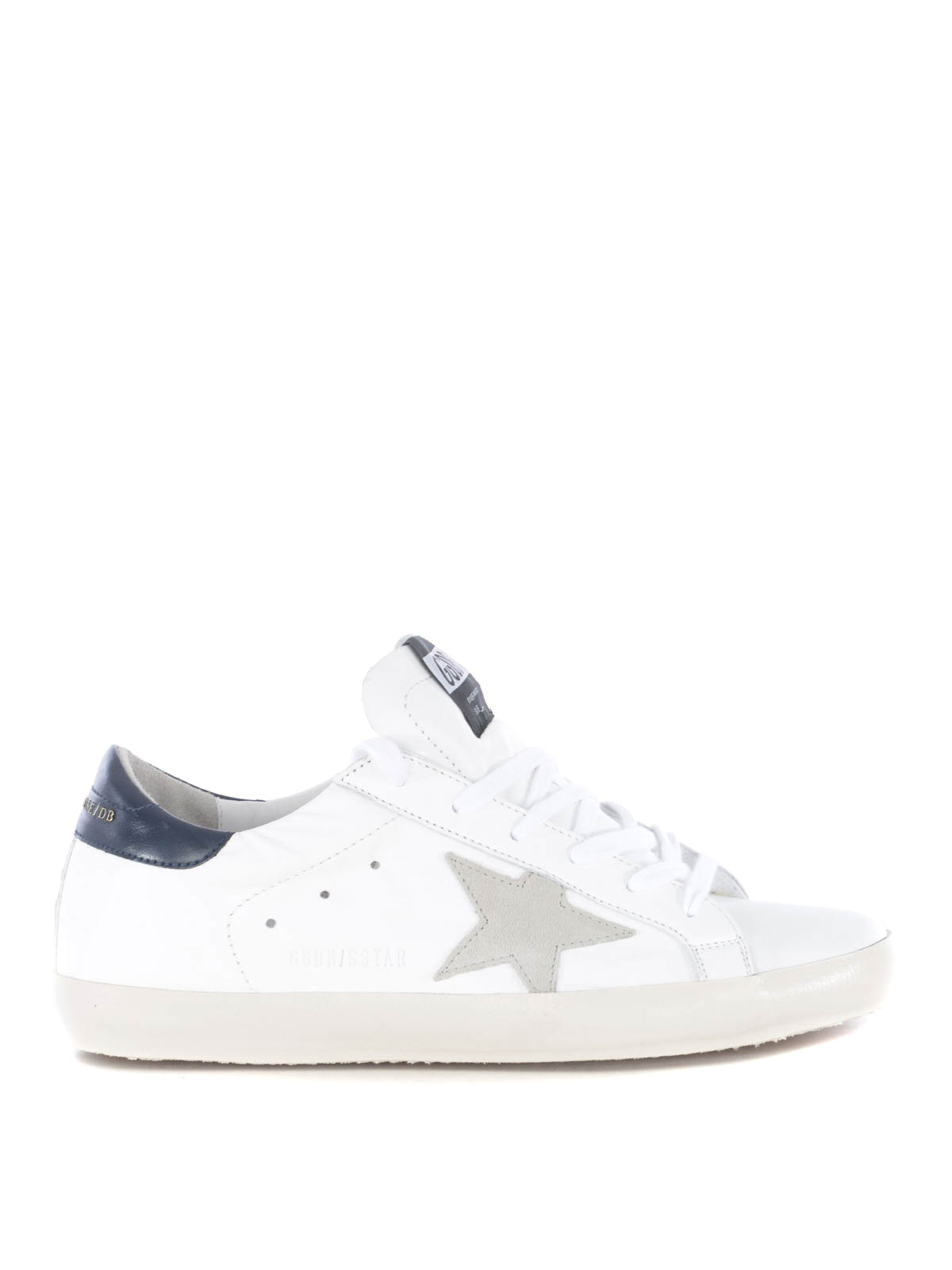 b38f522c3b6 Golden Goose - Superstar white leather low-top sneakers - trainers ...