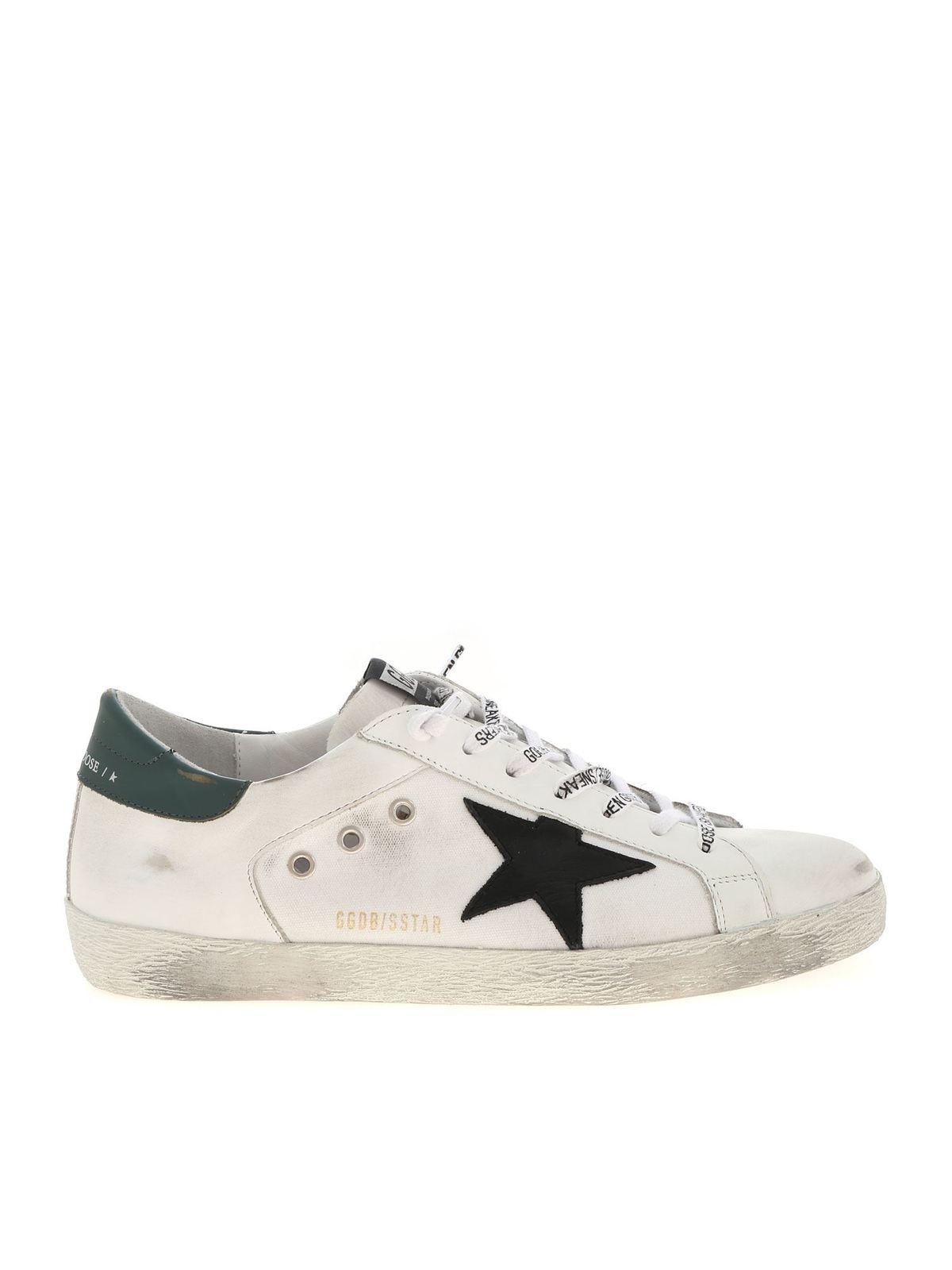 Golden Goose - Superstar white sneakers