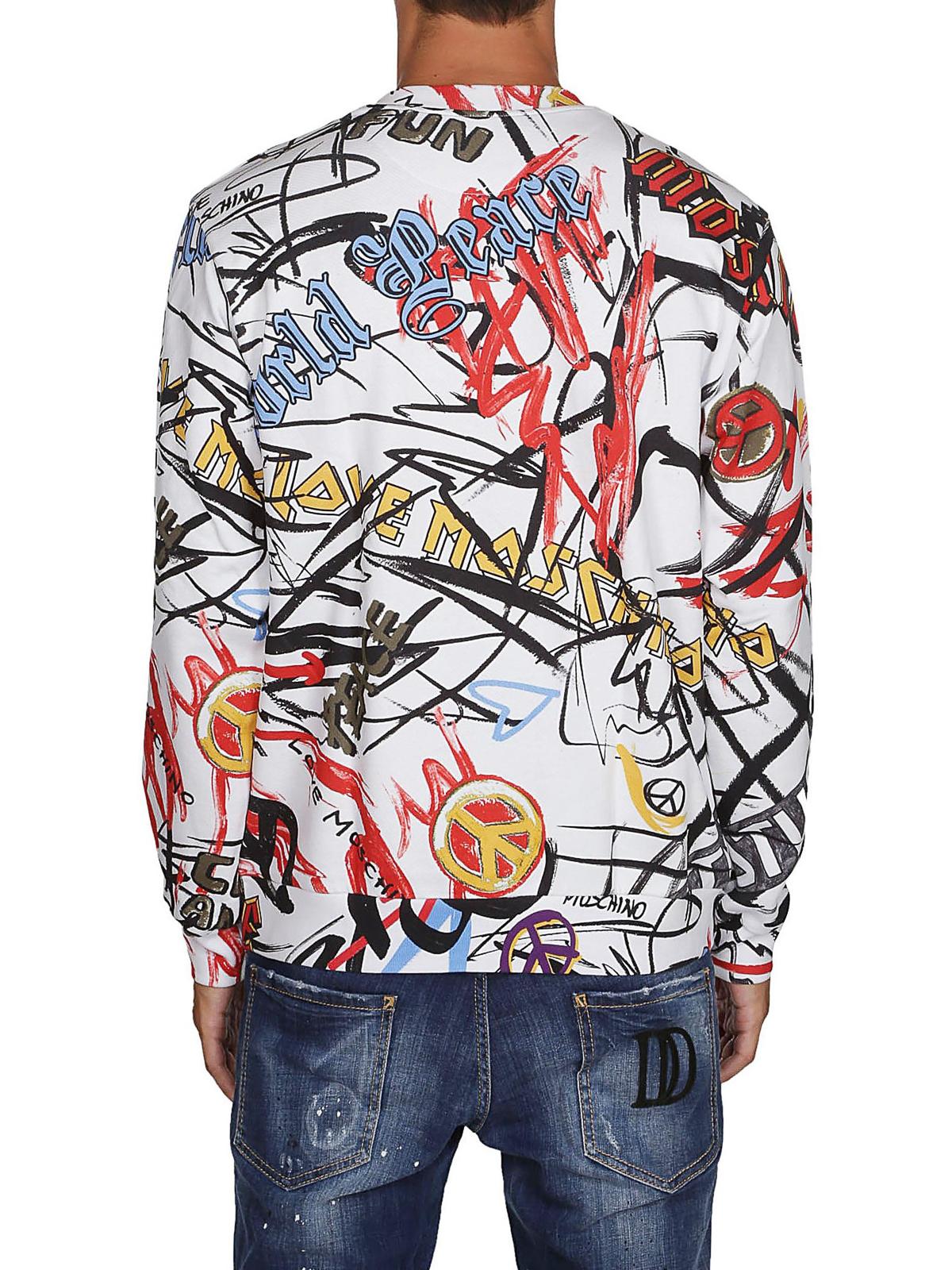 11cfece9 graffiti-print-sweatshirt-shop-online-love-moschino-00000140102f00s004.jpg