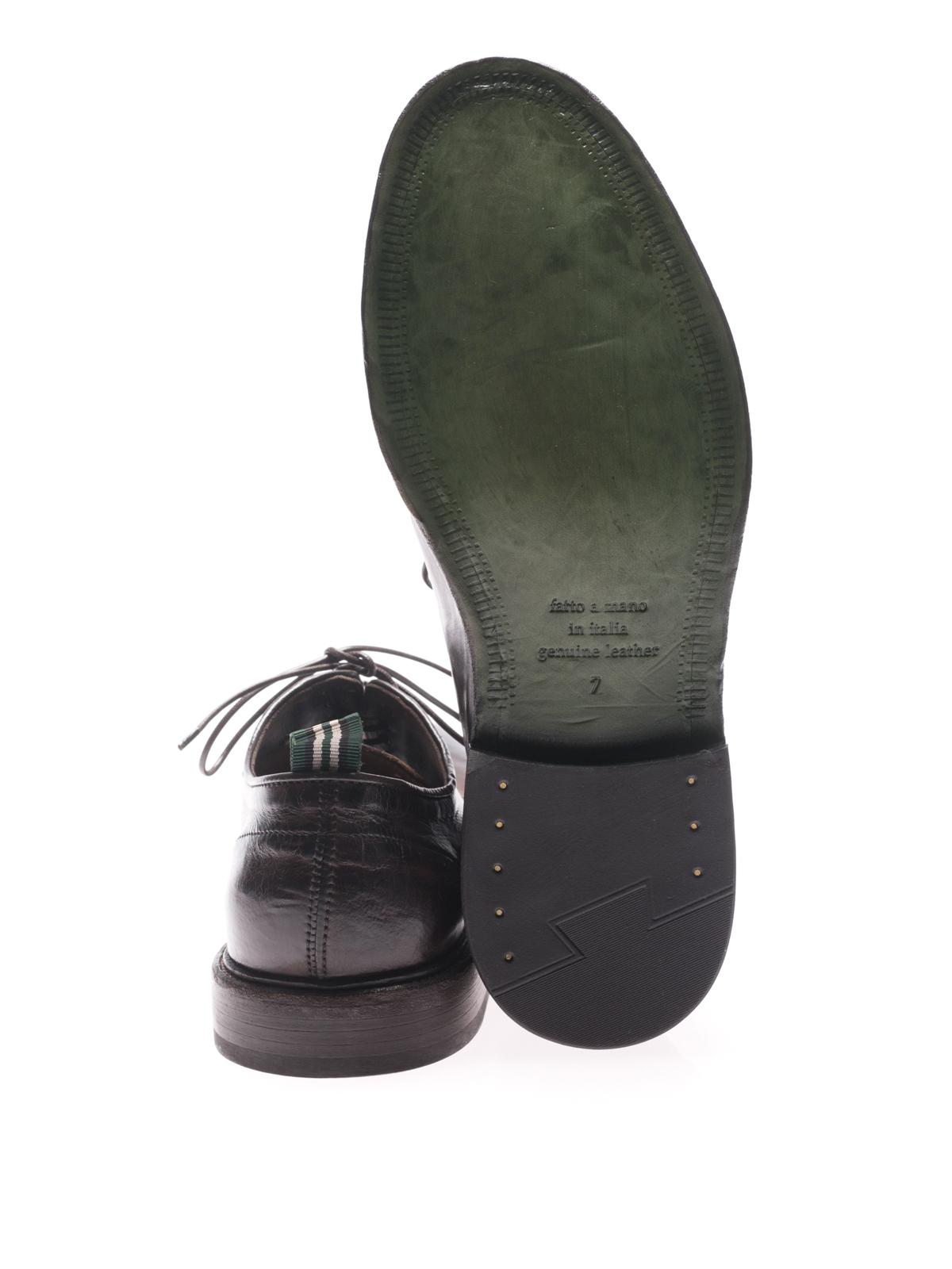 quality design 38caf 9f77f Green George - Stringate marroni vintage Maremma - scarpe ...