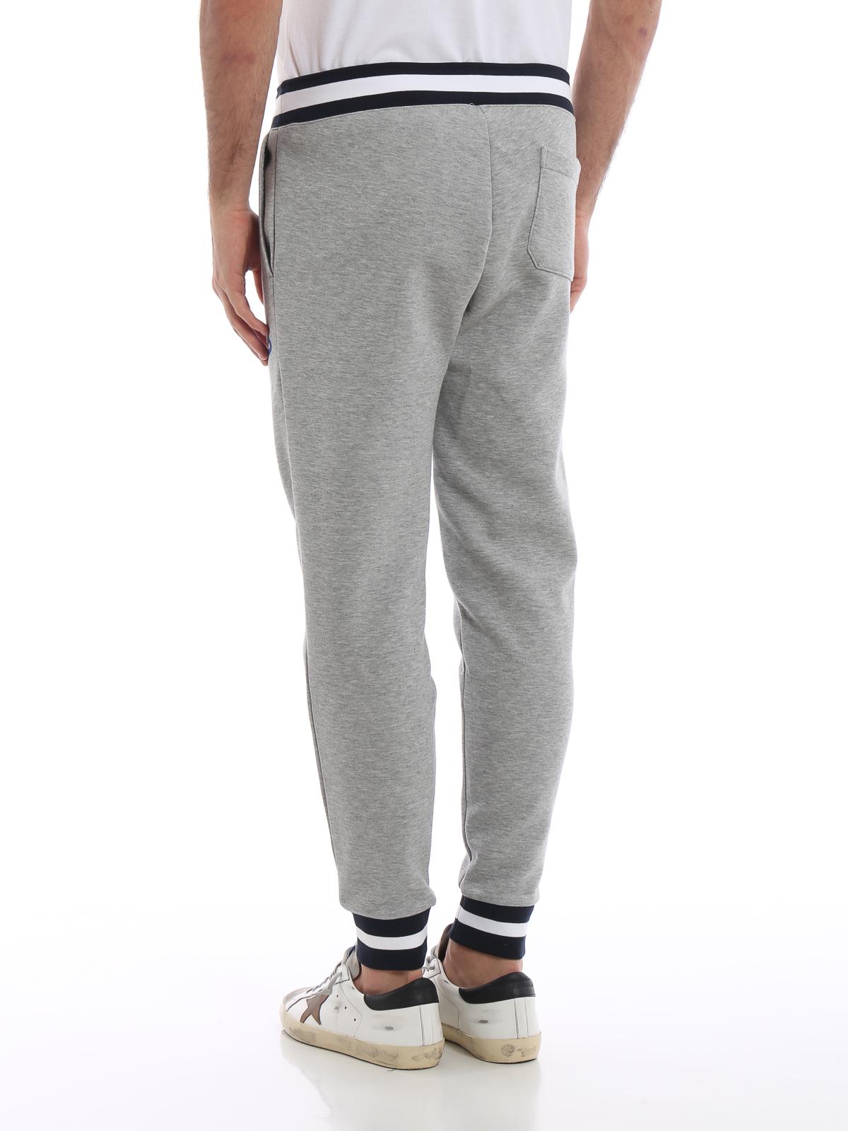 967dc351c21 Grey stretch cotton tracksuit bottoms shop online  POLO RALPH LAUREN