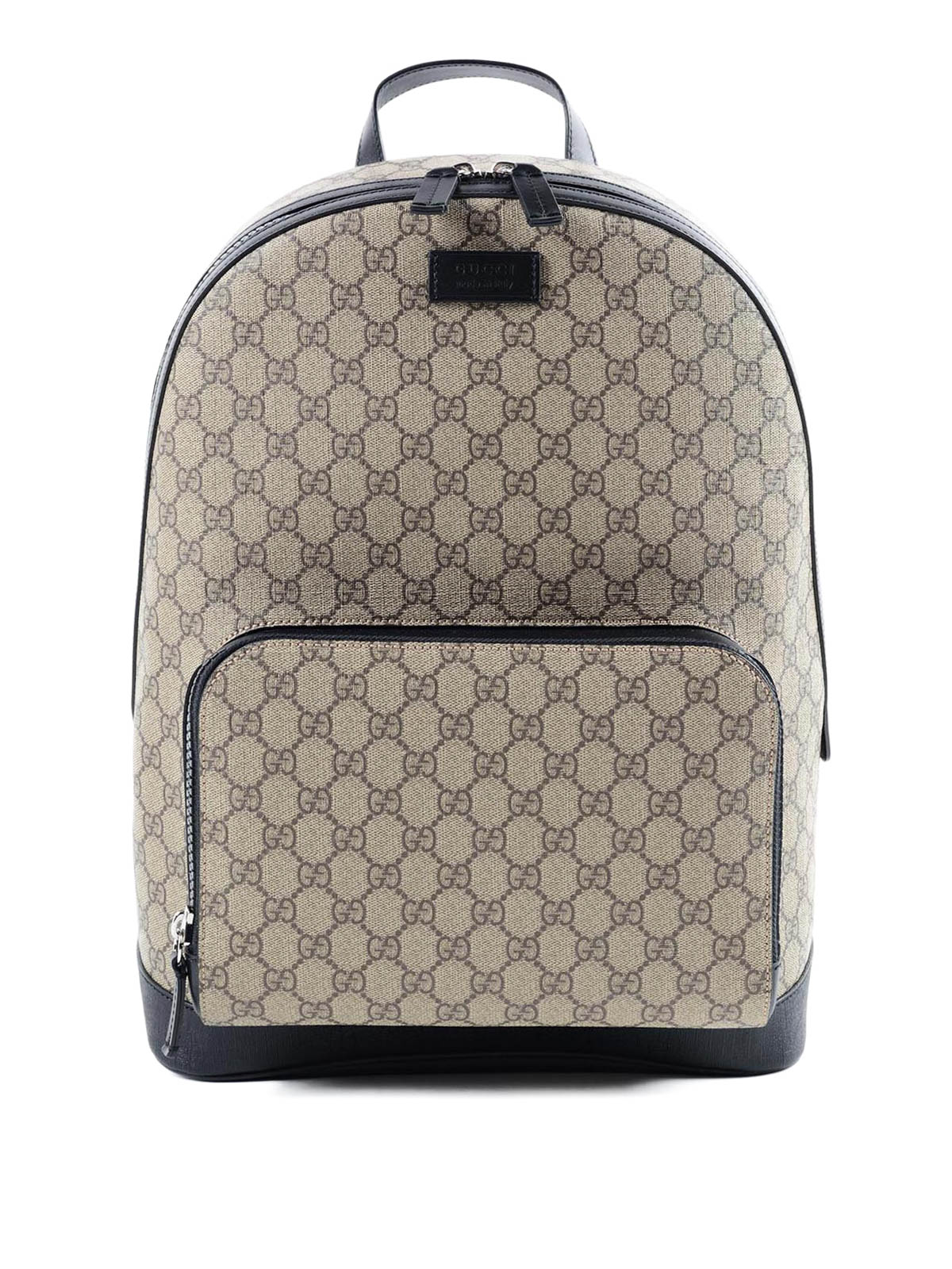 Gucci - Mochila Gg Supreme - Negro - Mochilas - 406370 KLQAX 9772 b36d1a04860