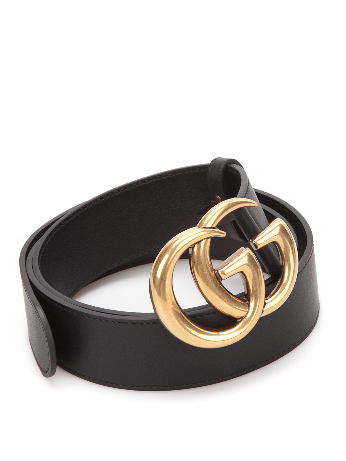leather belt with double g buckle by gucci belts ikrix