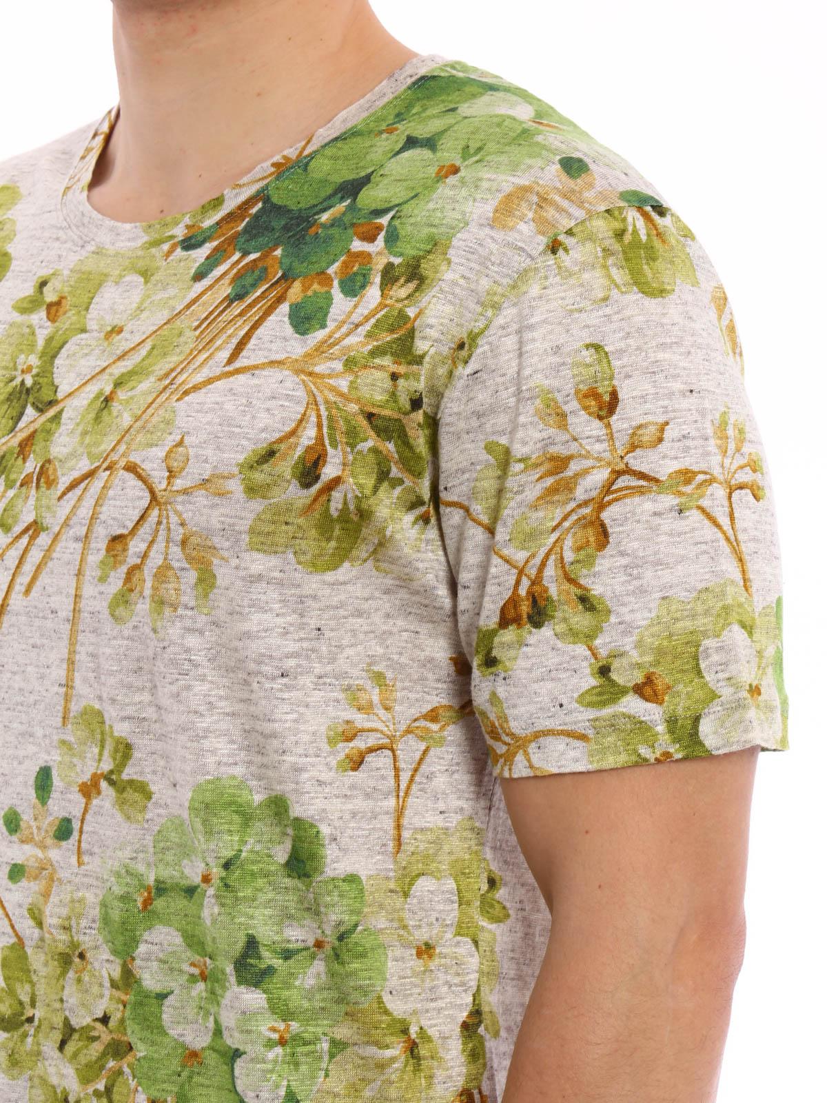 db947ce25 Gucci - Blooms print jersey T-shirt - t-shirts - MN0409708XJ064 9391