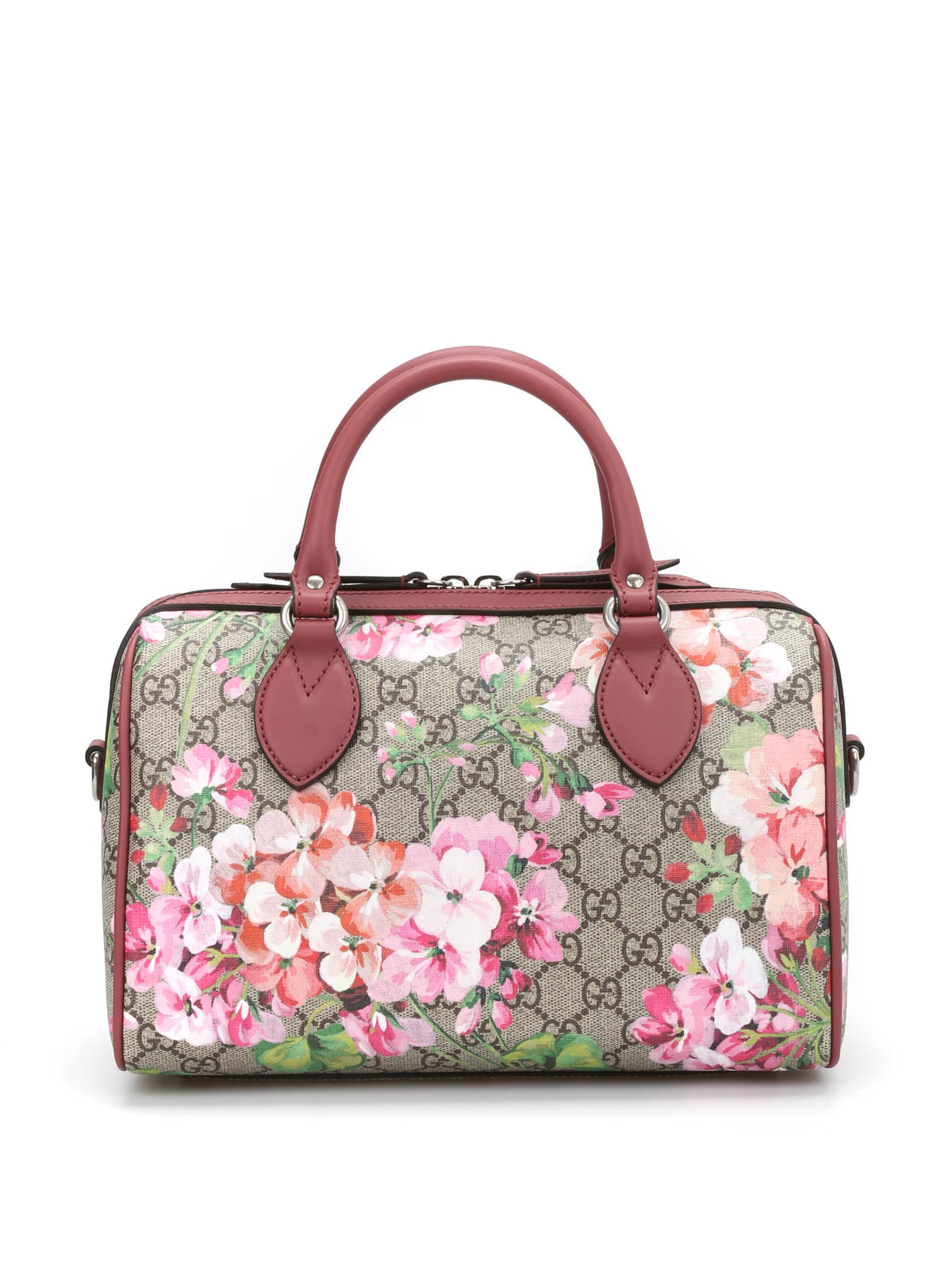 46fee5946cd1 Gucci - Blooms GG Supreme top handle bag - bowling bags - 409529 ...