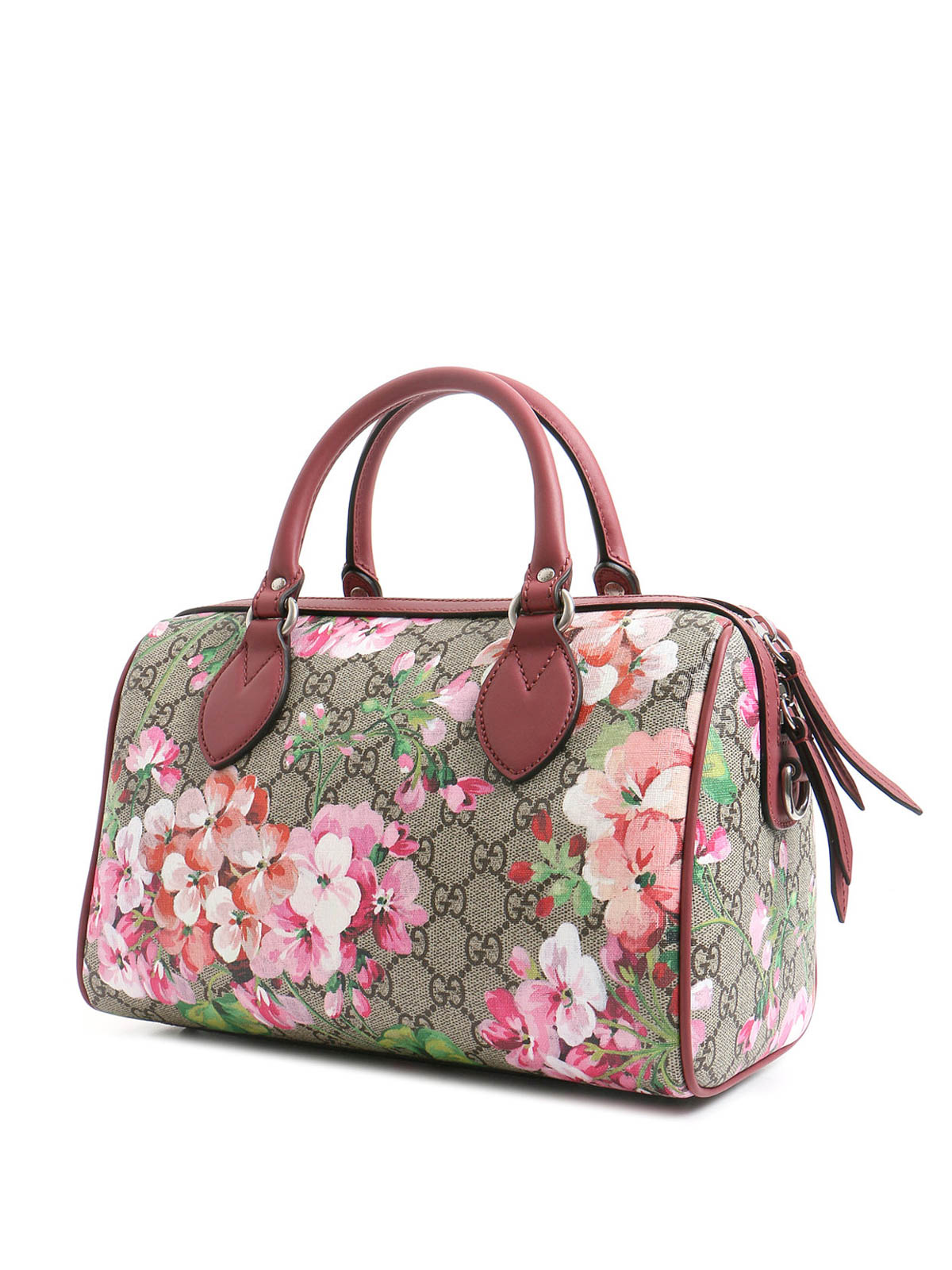 Blooms GG Supreme Small Bowling Bag By Gucci - Bowling Bags | IKRIX