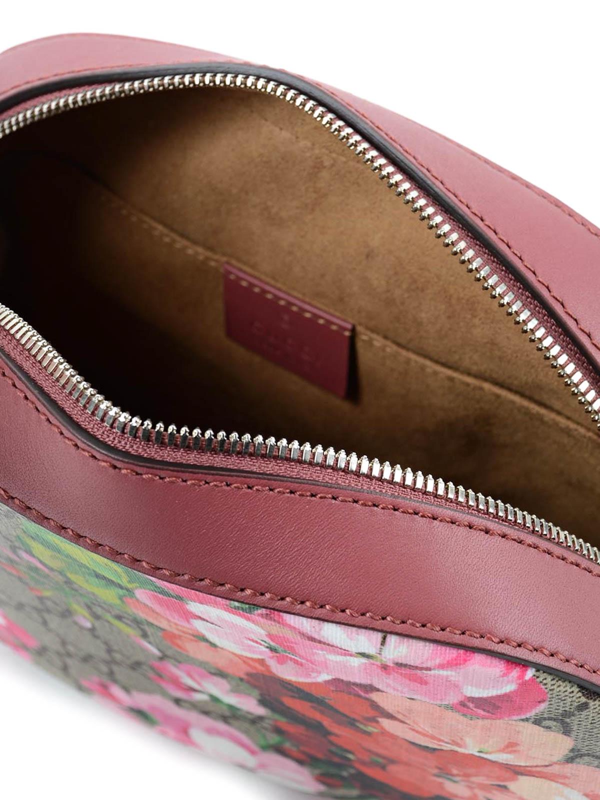 60954a7652d7 Gucci - Blooms GG supreme mini chain bag - cross body bags - 409535 ...