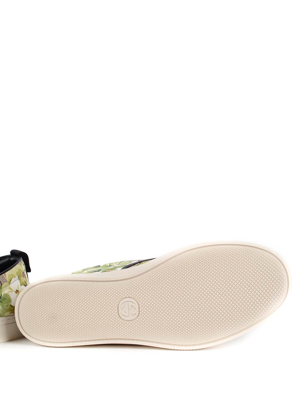 b0698098dbe GUCCI buy online Blooms print canvas slip-ons · GUCCI  Loafers   Slippers  ...