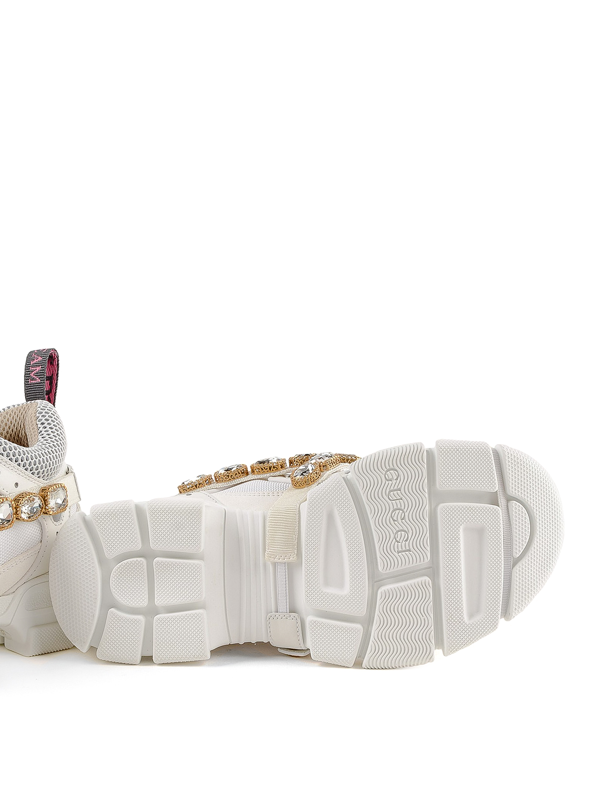 24d6bba33c4 Gucci - Flashtrek sneakers with removable crystals - trainers ...