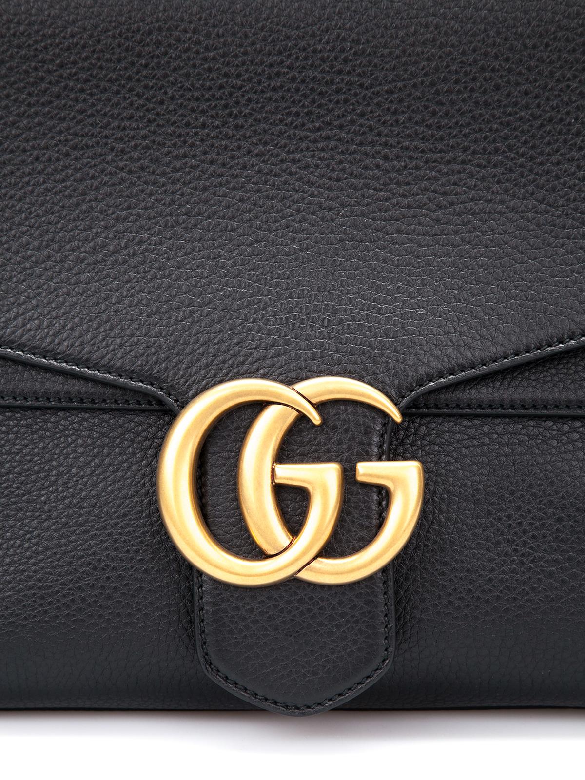 Gucci Gg Marmont Leather Shoulder Bag Shoulder Bags
