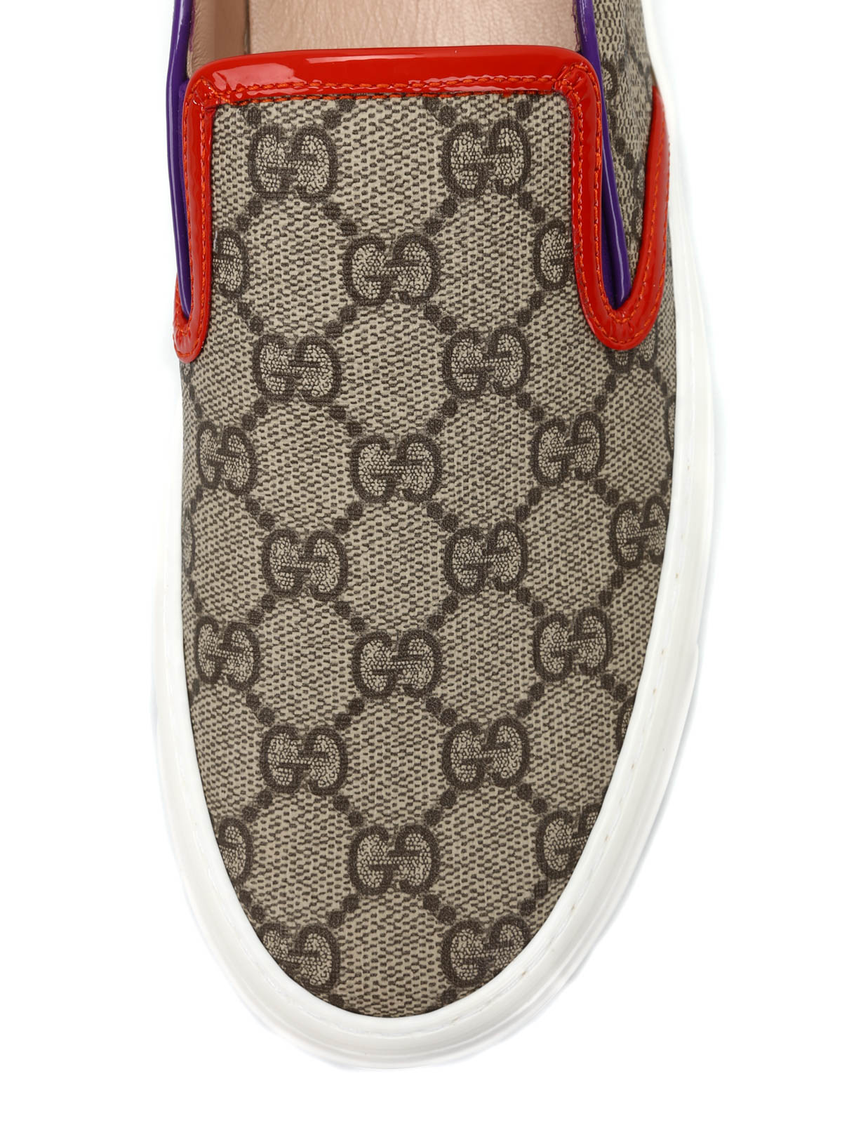 61795ff5acd Gucci - GG slip-on sneakers - Loafers   Slippers - 408511 KLQO0 9768