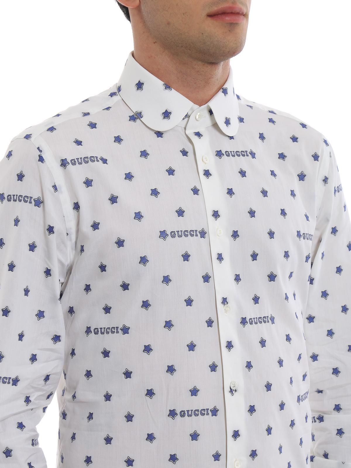 dafae61f54d5 Gucci - Gucci star cotton shirt - shirts - 547235 ZAADT 9002 | iKRIX.com