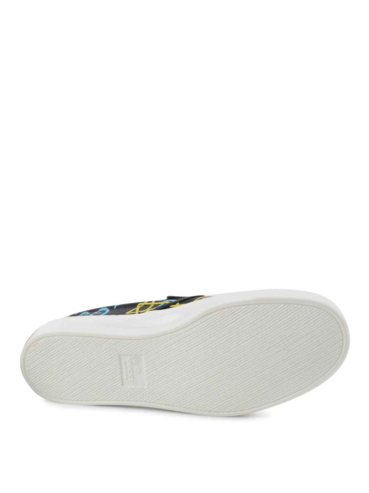 e3d3b26f0ab Gucci - GuggiGhost slip-ons - trainers - 408510DSS30 8465