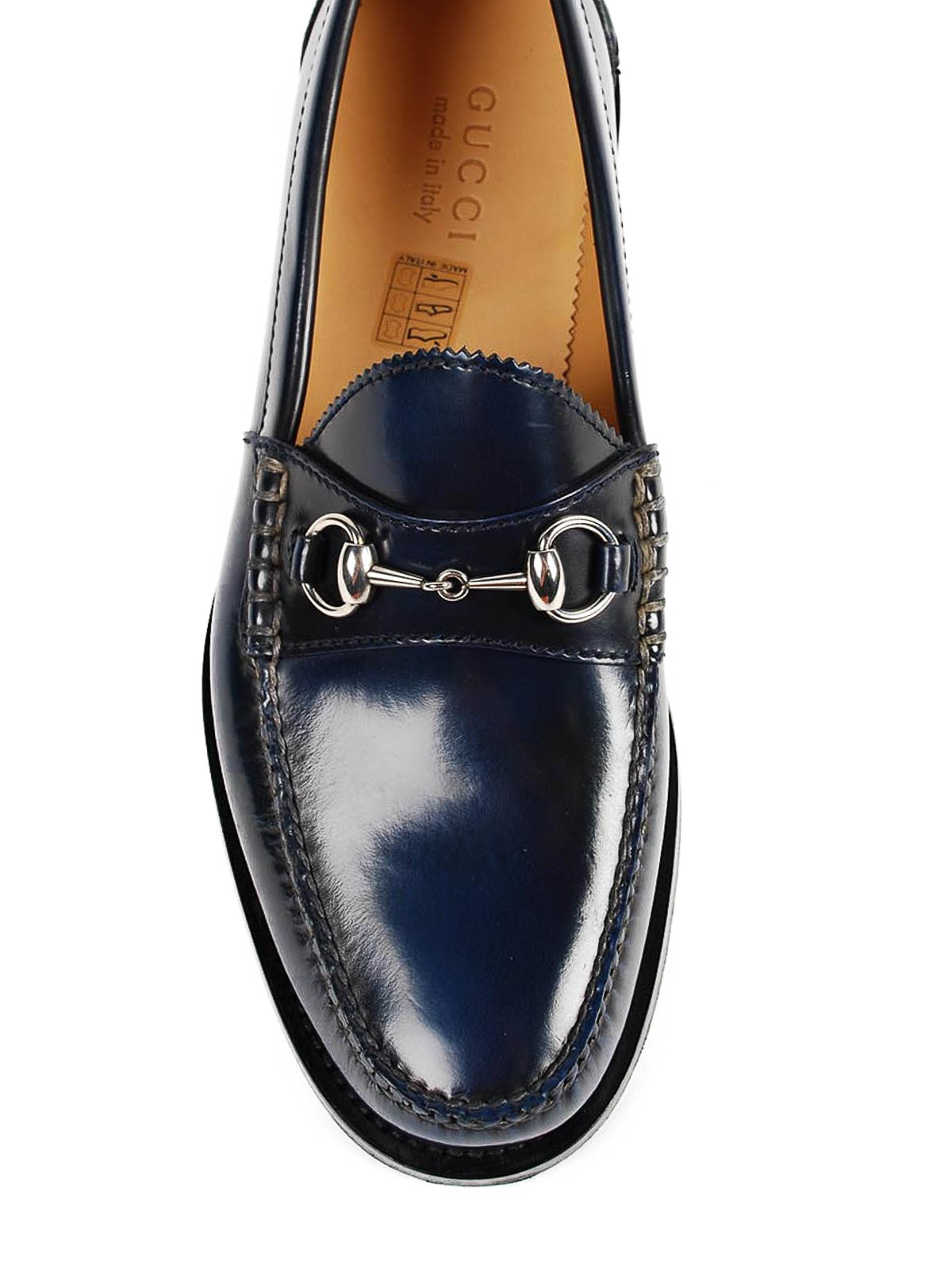 c683301fbab Gucci - Horsebit leather loafers - Loafers   Slippers - 386558 BXP00 ...