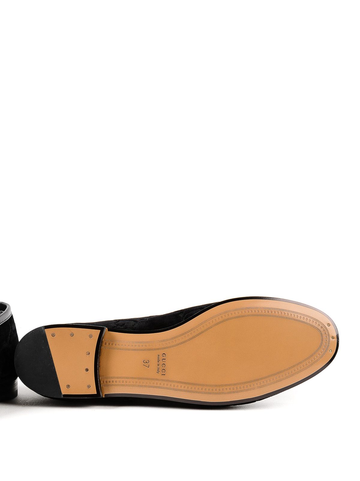 70f8a2428b9 Gucci - Jordaan GG black velvet loafer - Loafers   Slippers ...