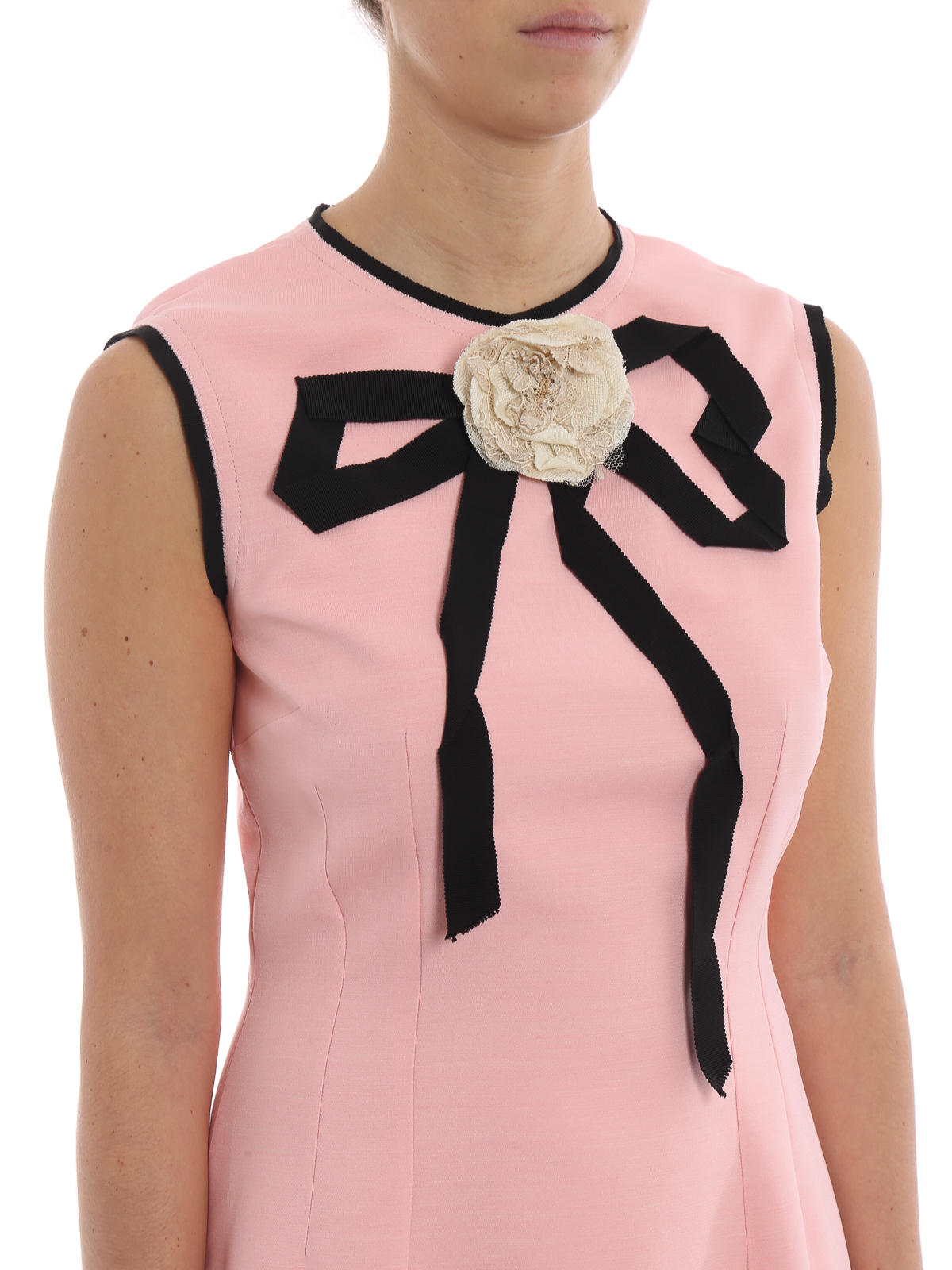 6cabb116c6b5 GUCCI buy online Pink silk and wool pencil dress · GUCCI  cocktail dresses  ...