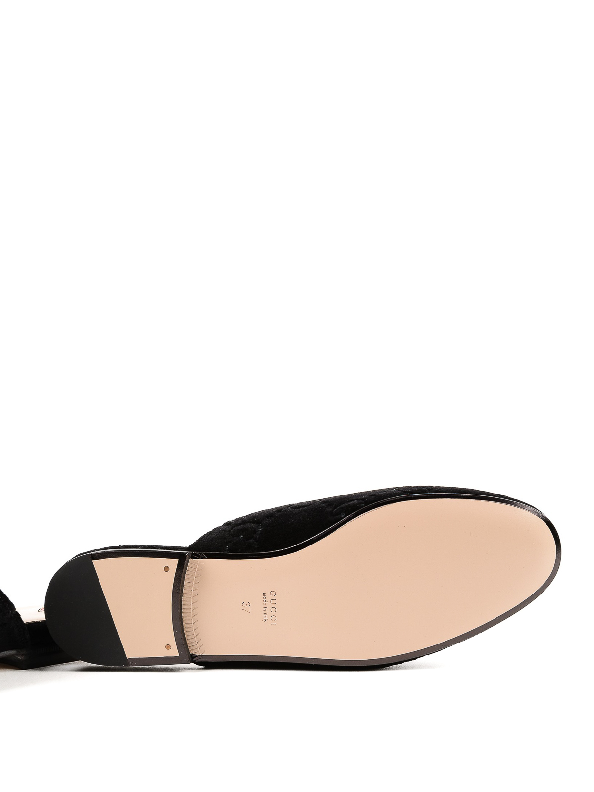 9b3edc9cda9 Gucci - Princetown GG black velvet slippers - Loafers   Slippers ...