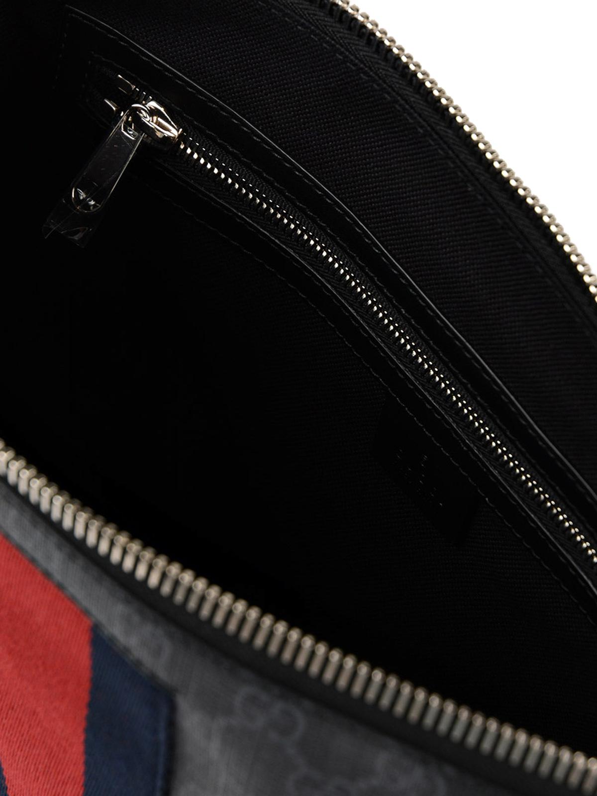 2852f2cfeb6 Gucci - Sylvie Web GG Supreme messenger bag - shoulder bags ...