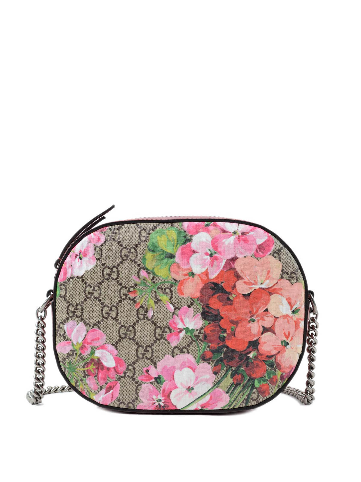 31285c257b3 Gucci - Blooms GG supreme mini chain bag - cross body bags - 409535 ...