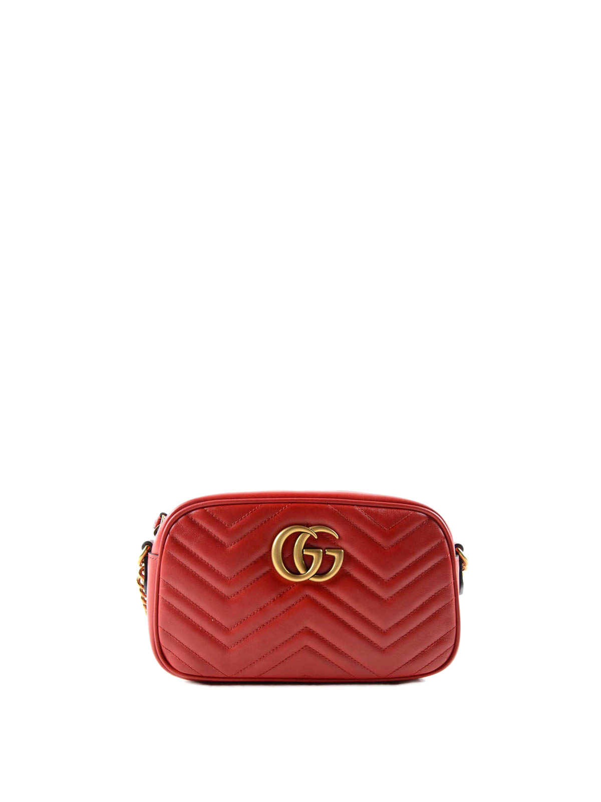 3ea30ee0ef259b Gucci - GG Marmont matelassé crossbody bag - cross body bags ...