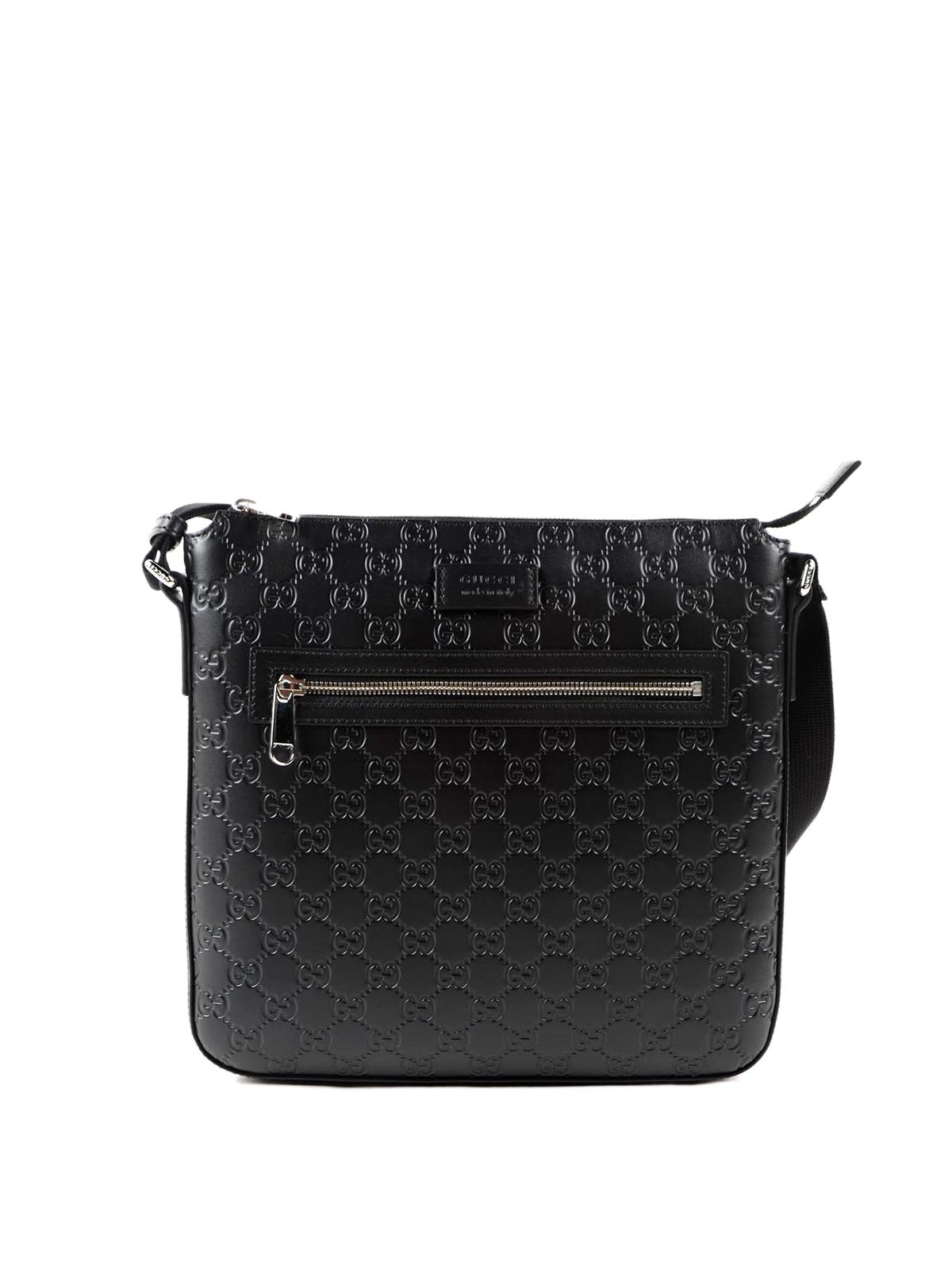 aa7fa3284 Gucci - Guccissima leather messenger bag - cross body bags ...