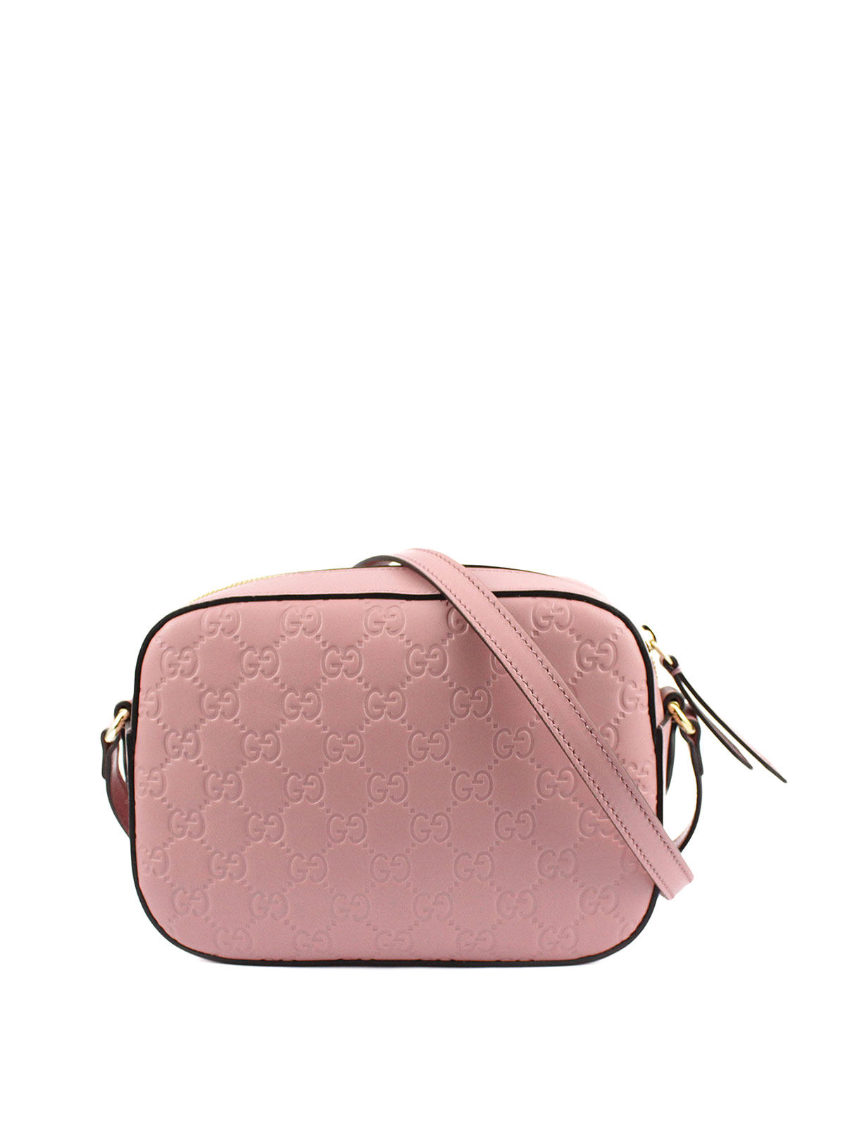 cebc3add992f Gucci - Signature leather crossbody bag - cross body bags ...