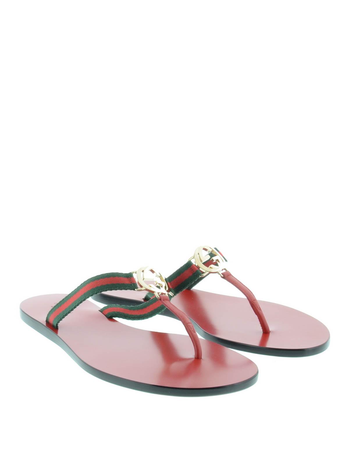 ef4e9b1808c4c1 Gucci - GG thong - flip flops - 388427 H9160 8482