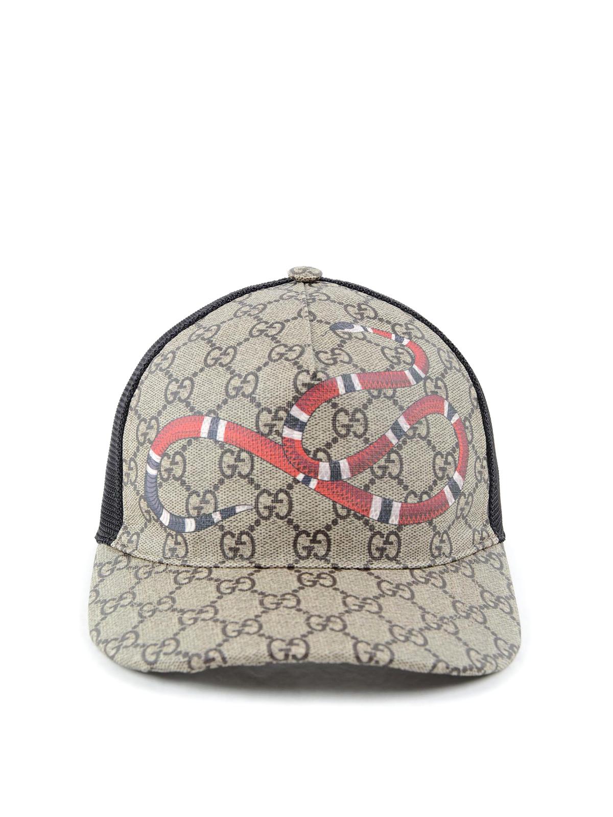 Gucci - Sombreros Y Gorros Negros - Sombreros - 4268874HB10 2160 faebc468376