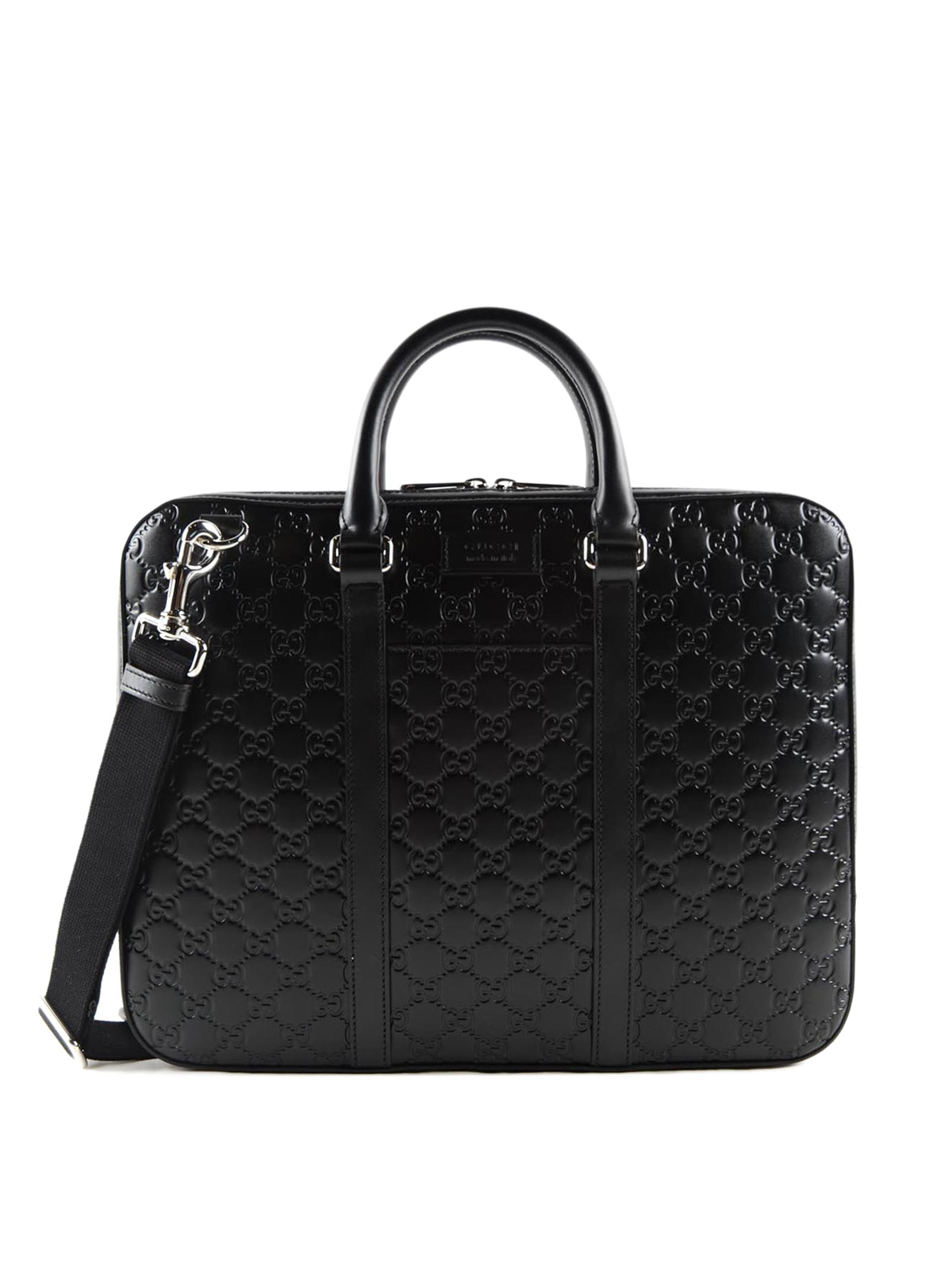 4ae0321d7 Gucci - Signature leather small briefcase - laptop bags & briefcases ...