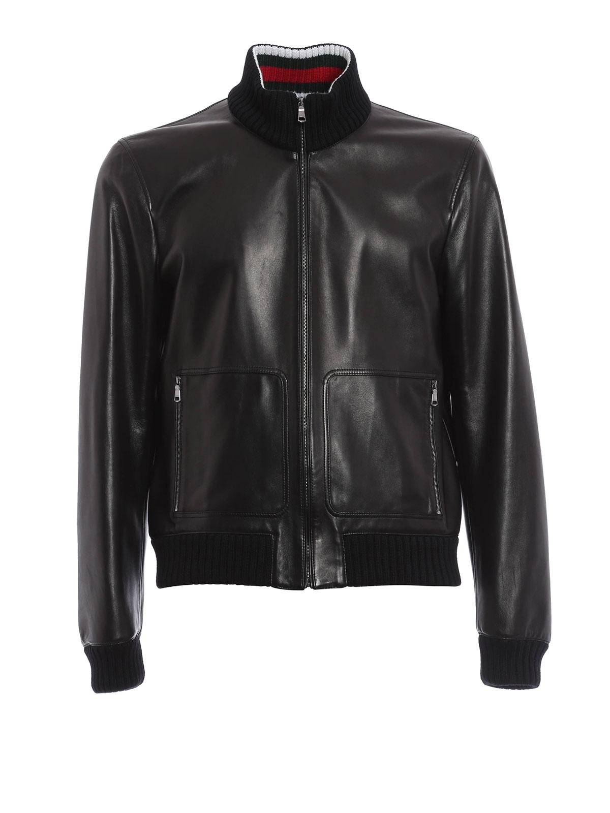Soften leather jacket