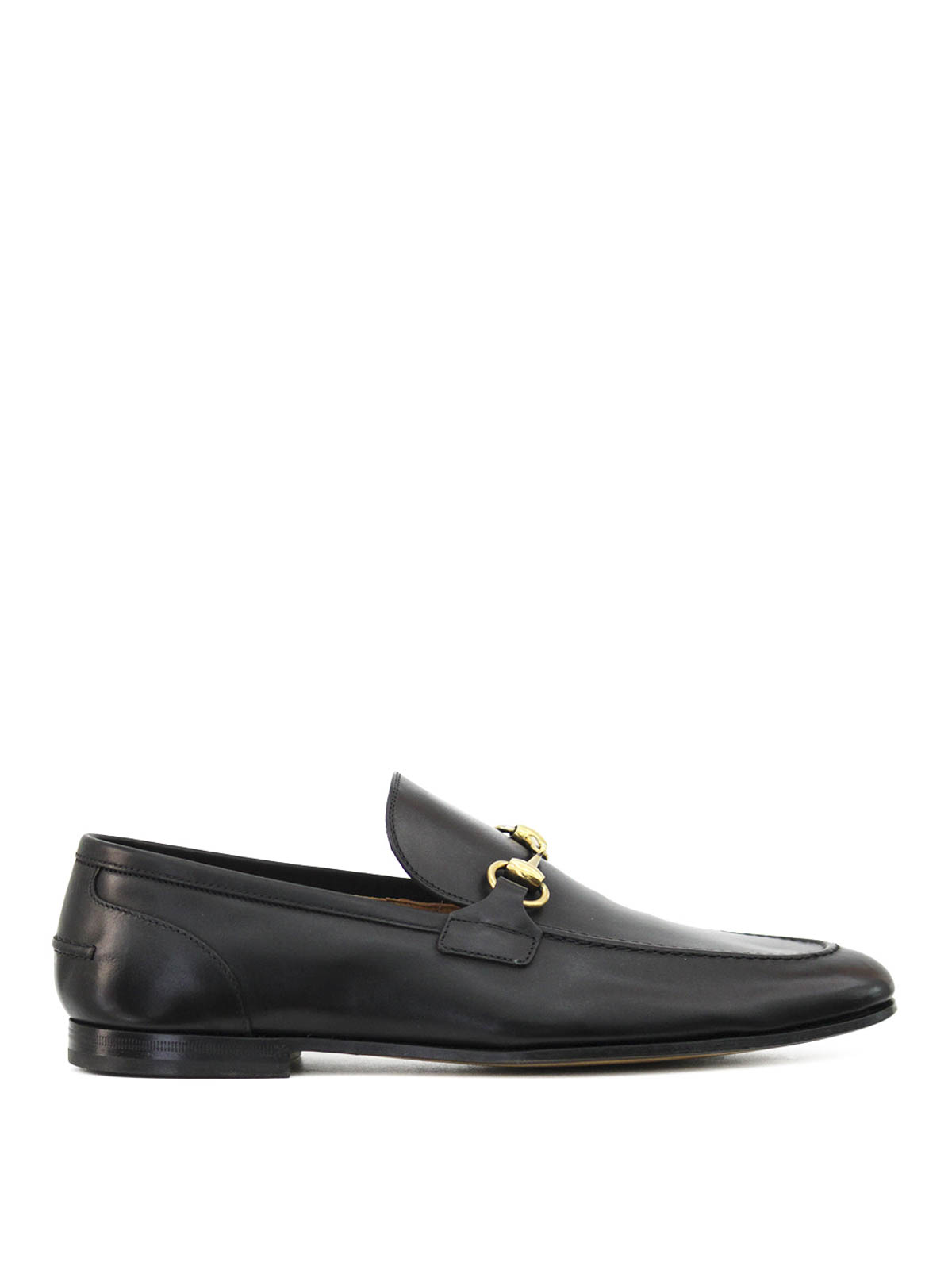gucci leather horsebit loafers loafers slippers 406994 blm00 1000. Black Bedroom Furniture Sets. Home Design Ideas