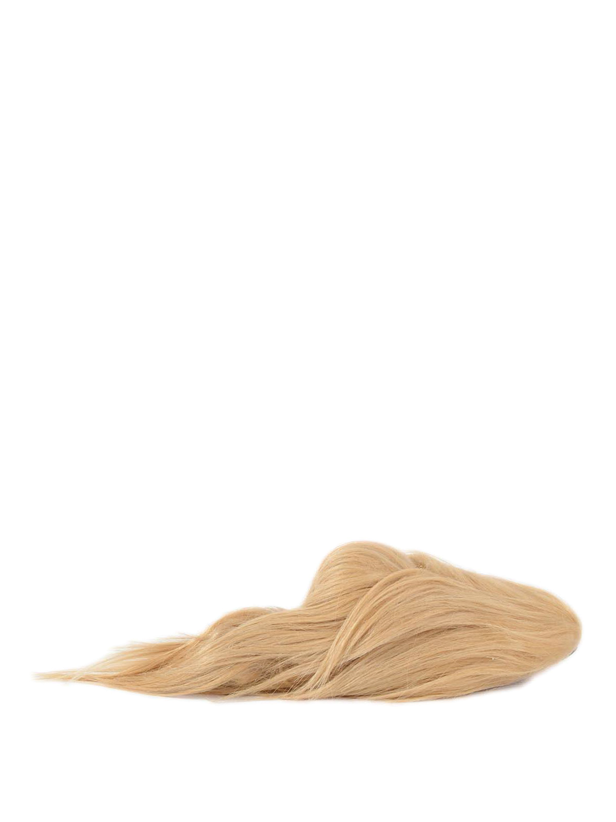 Hair Goat Slippers By Gucci - Loafers U0026 Slippers | IKRIX